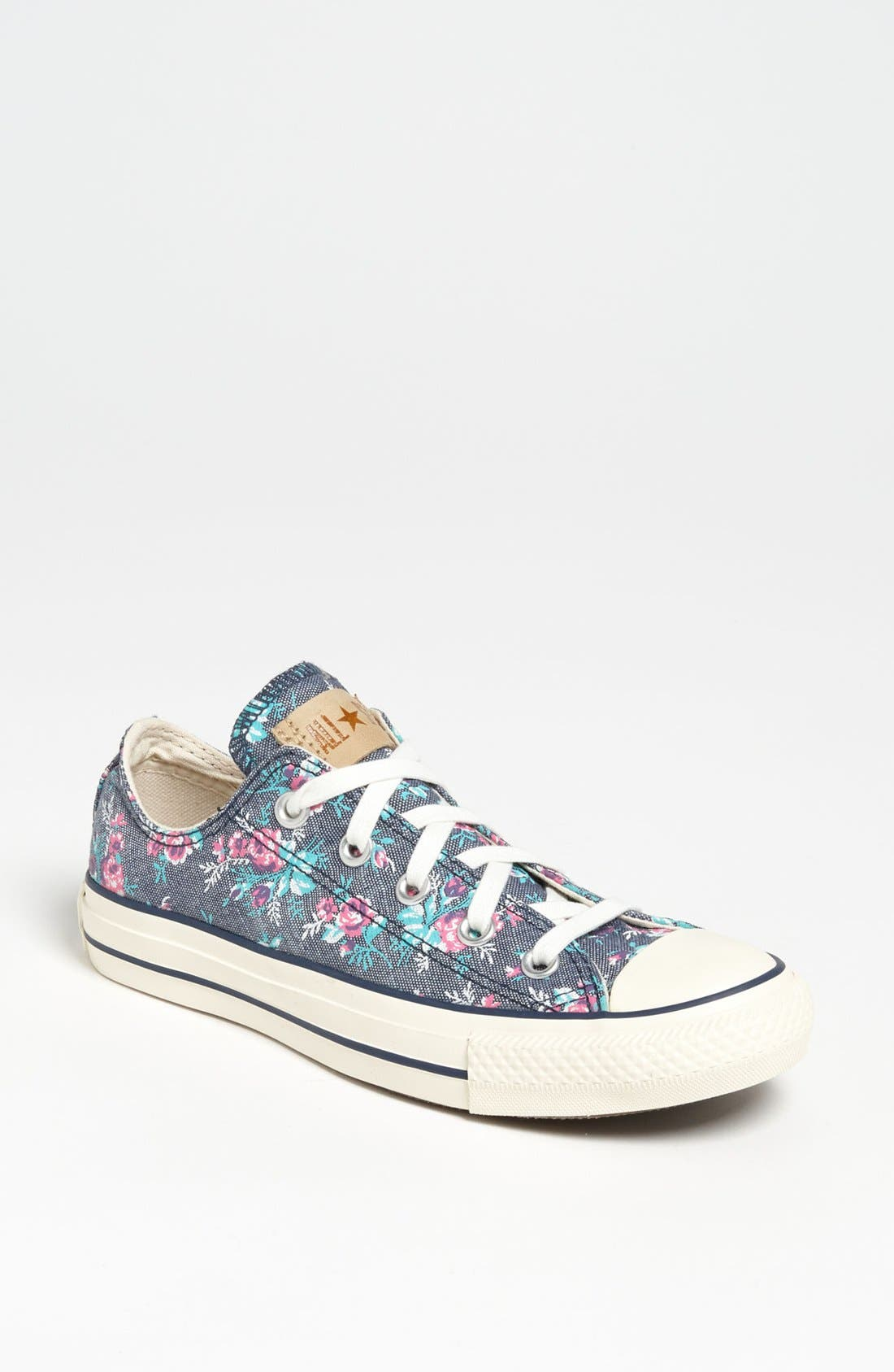 Alternate Image 1 Selected - Converse Chuck Taylor® All Star® Floral Sneaker (Women)