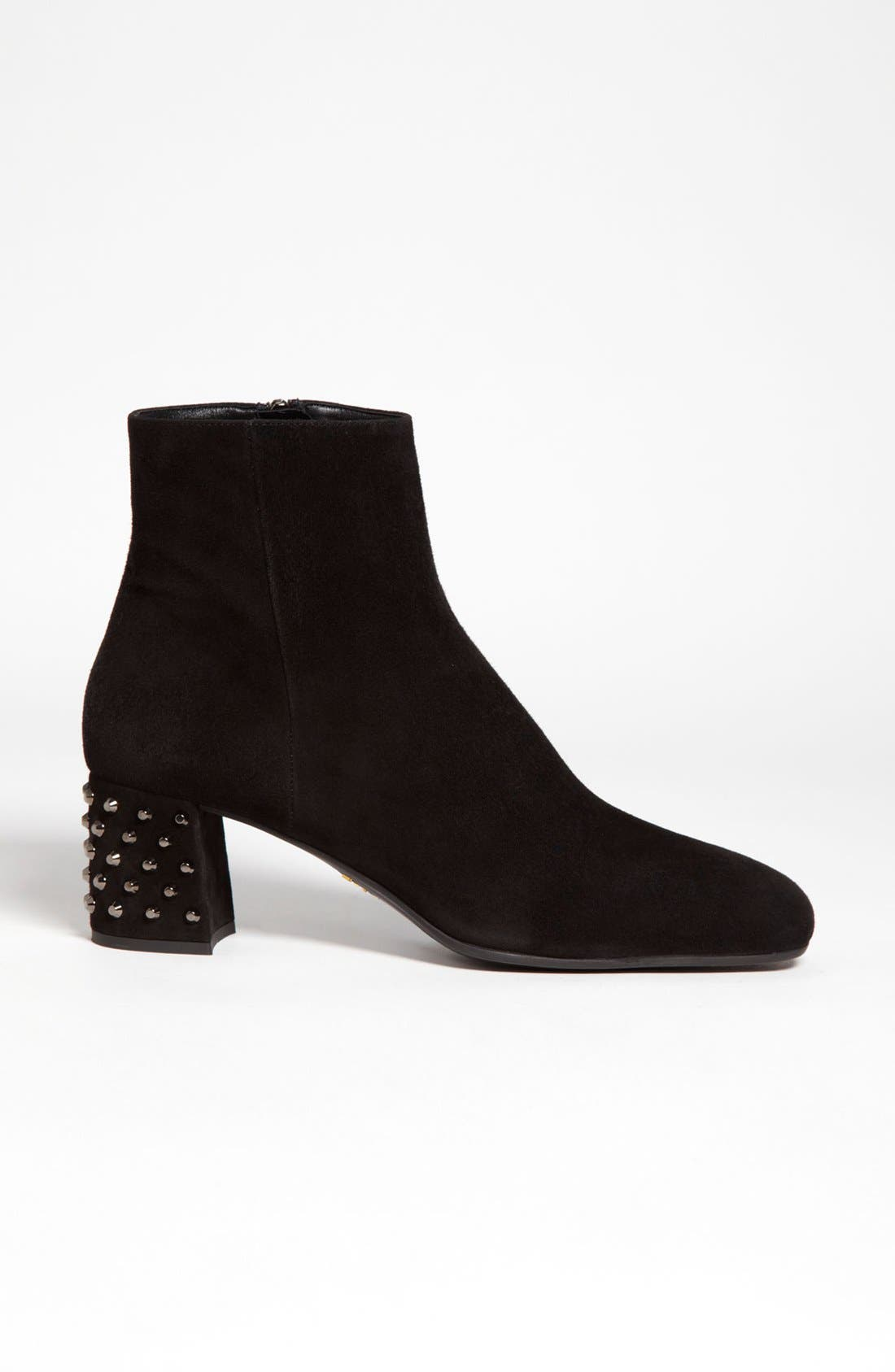 Alternate Image 4  - Prada Studded Heel Bootie