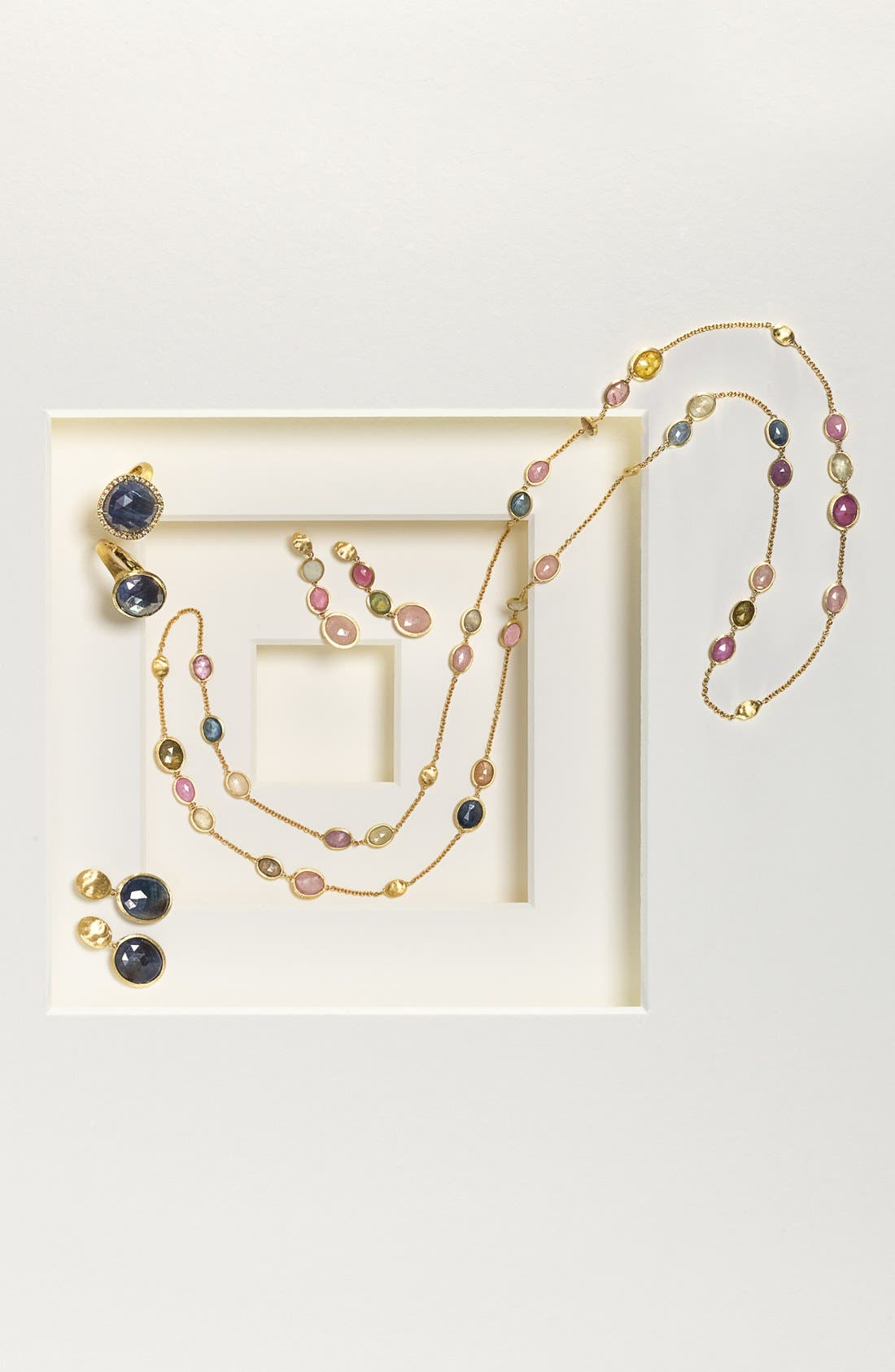 Alternate Image 4  - Marco Bicego 'Sivilgia' Long Sapphire Station Necklace