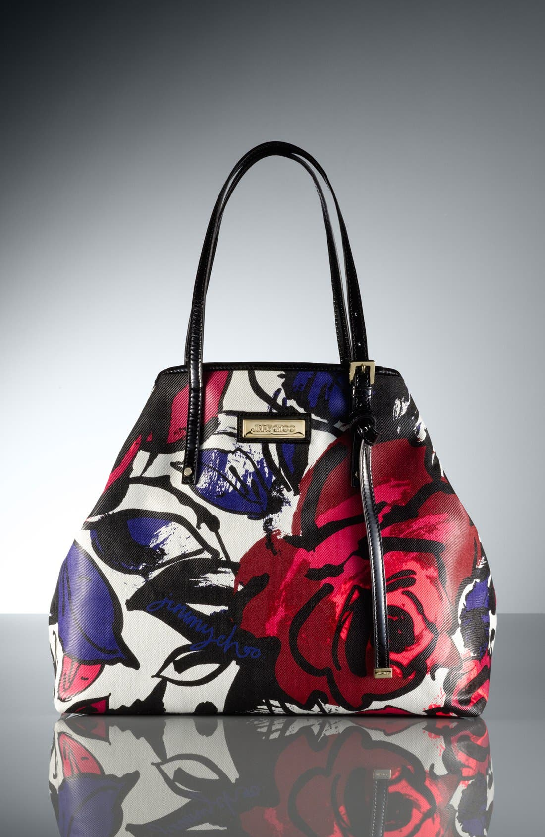 Alternate Image 5  - Jimmy Choo 'Sasha' Floral Tote