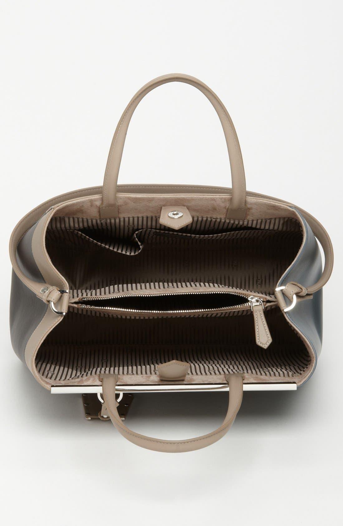 Alternate Image 3  - Fendi 'Geometric 2Jours - Medium' Leather Shopper