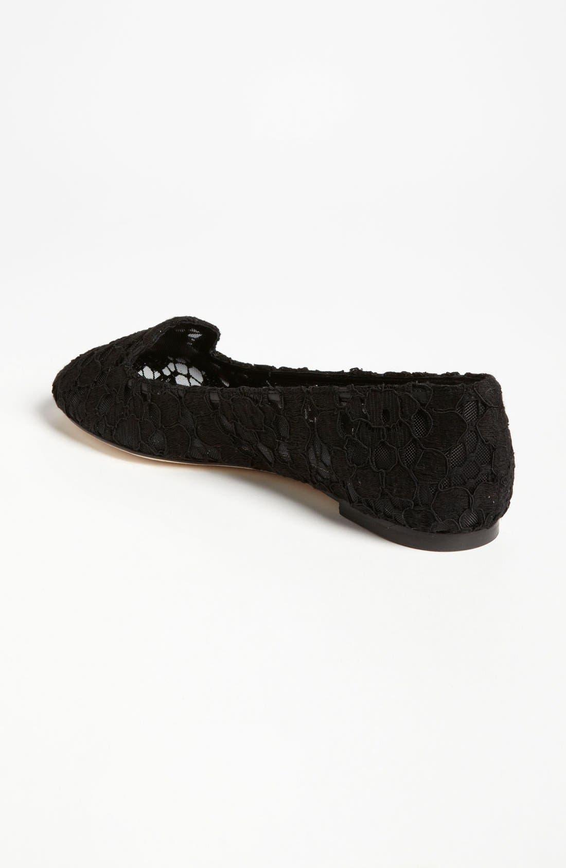 Alternate Image 2  - Dolce&Gabbana Crochet Flat