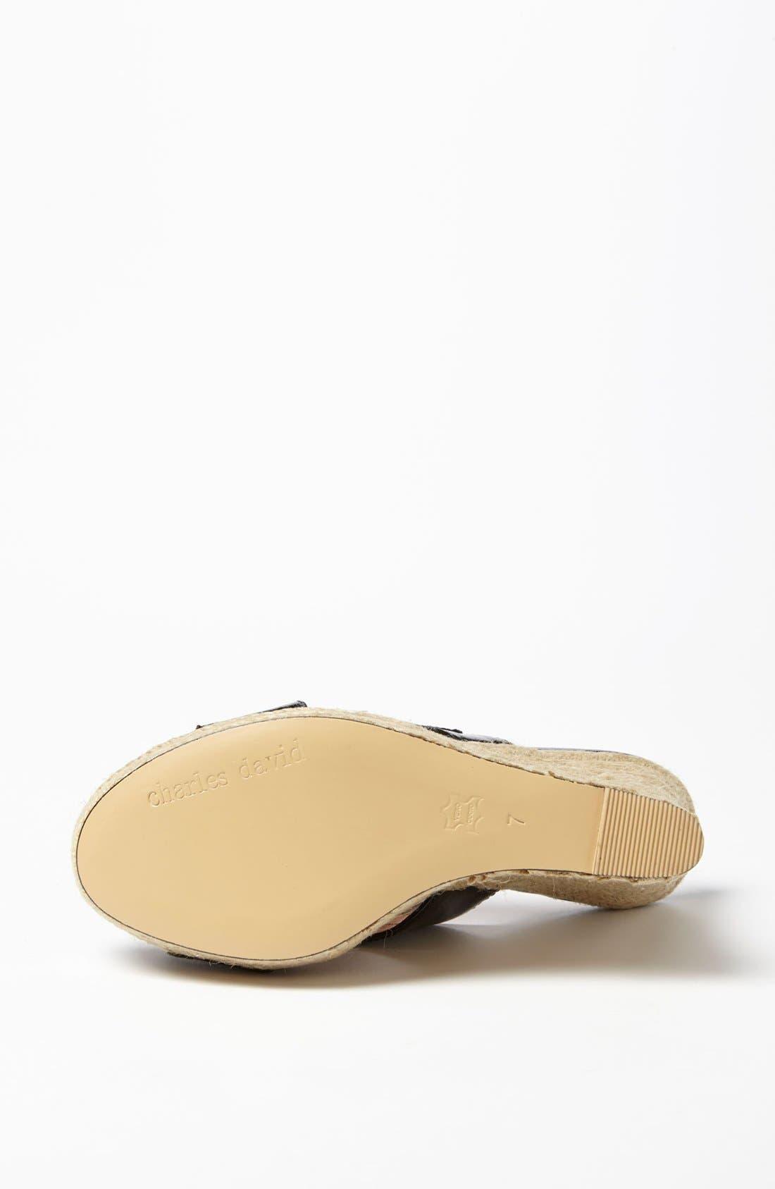 Alternate Image 4  - Charles David 'Nelly' Wedge Sandal