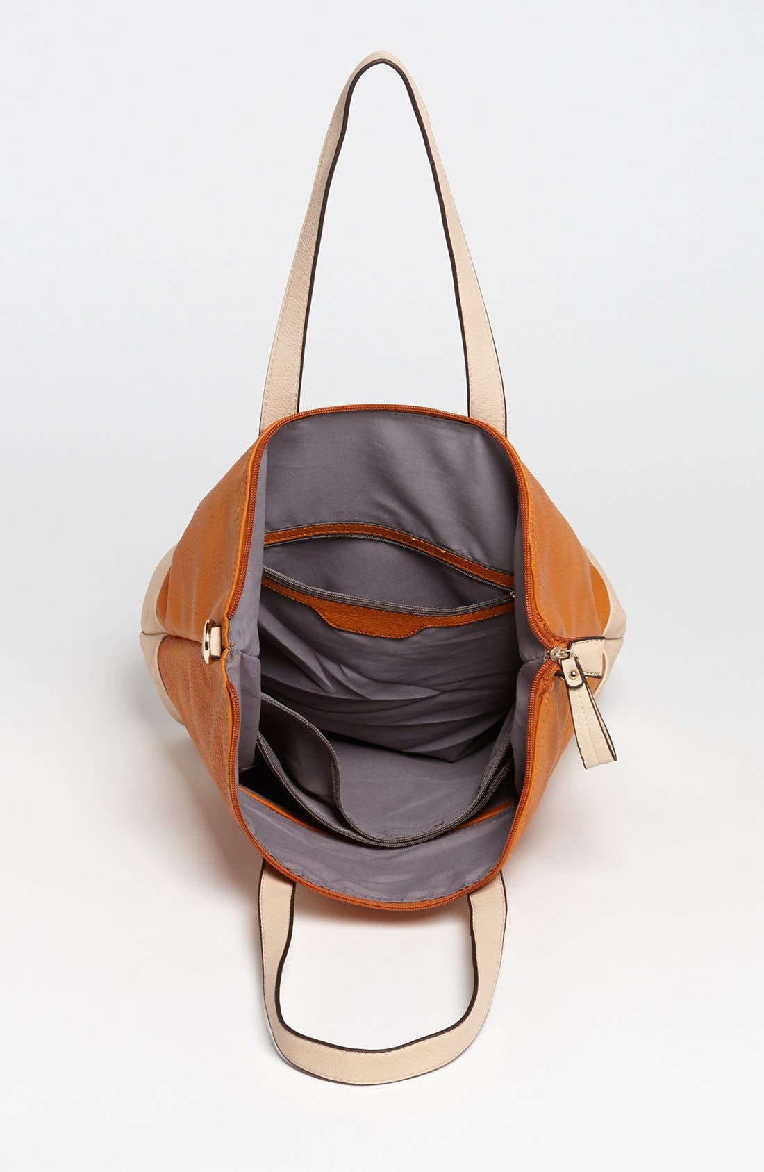 Alternate Image 3  - Emperia Color Block Faux Leather Tote