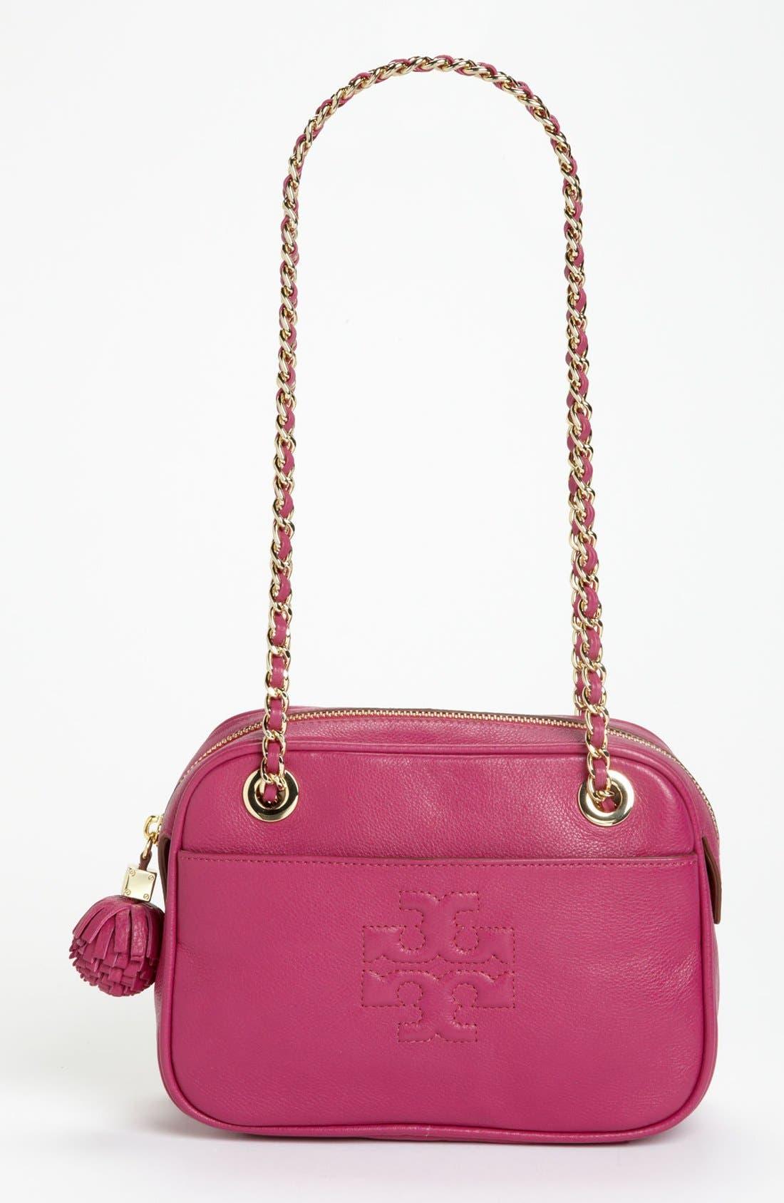 Main Image - Tory Burch 'Thea' Leather Crossbody Bag