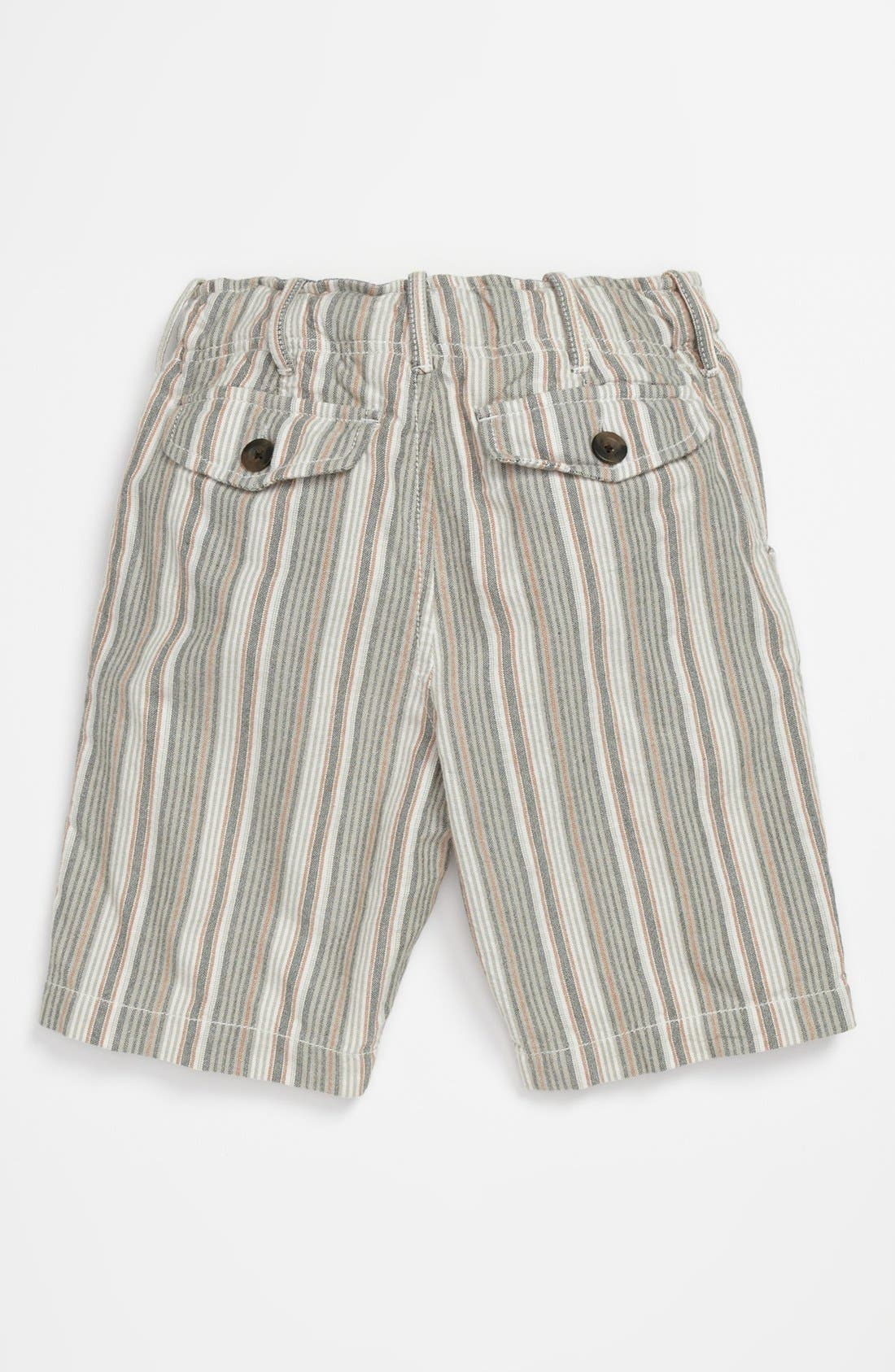 Alternate Image 2  - Peek 'Benito' Stripe Shorts (Big Boys)