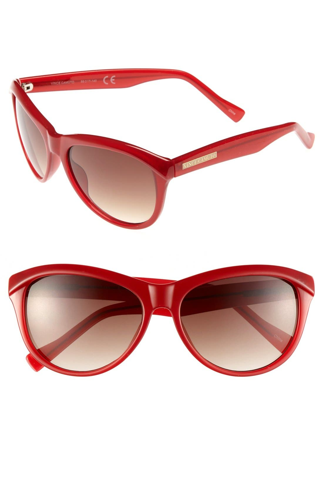 Alternate Image 1 Selected - Vince Camuto Oversized Sunglasses