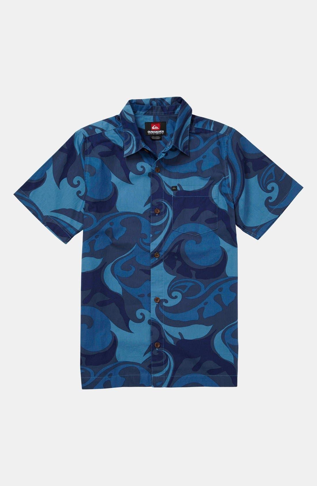 Alternate Image 1 Selected - Quiksilver 'Moku' Shirt (Little Boys & Big Boys)