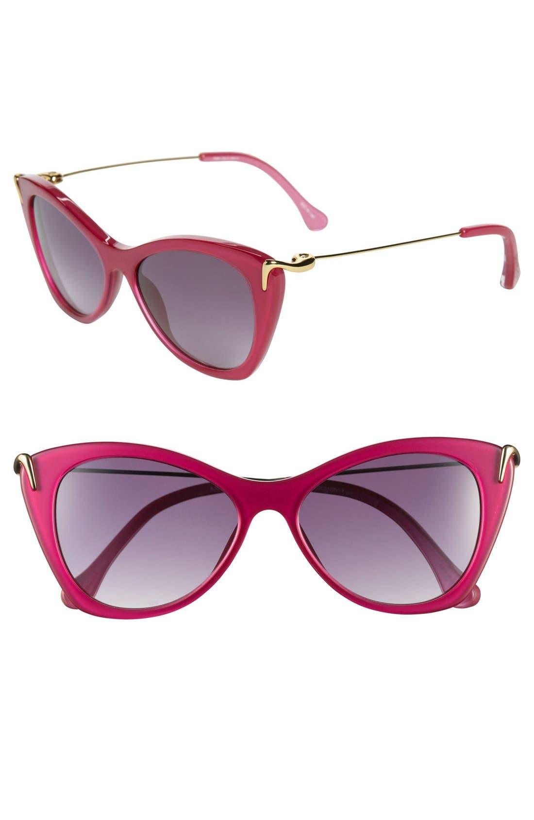 Alternate Image 1 Selected - Elizabeth and James 'Fillmore' 52mm Cat Eye Sunglasses