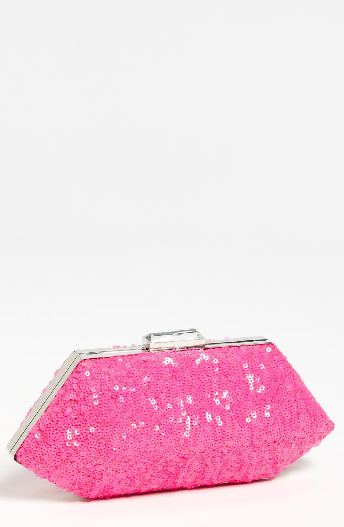 Main Image - Expressions NYC Sequin Clutch