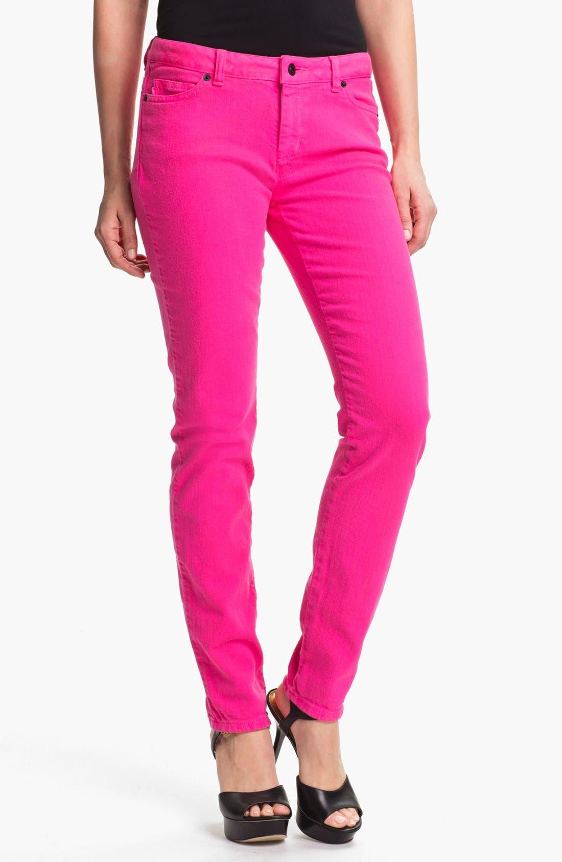 Alternate Image 1 Selected - MICHAEL Michael Kors Color Skinny Jeans