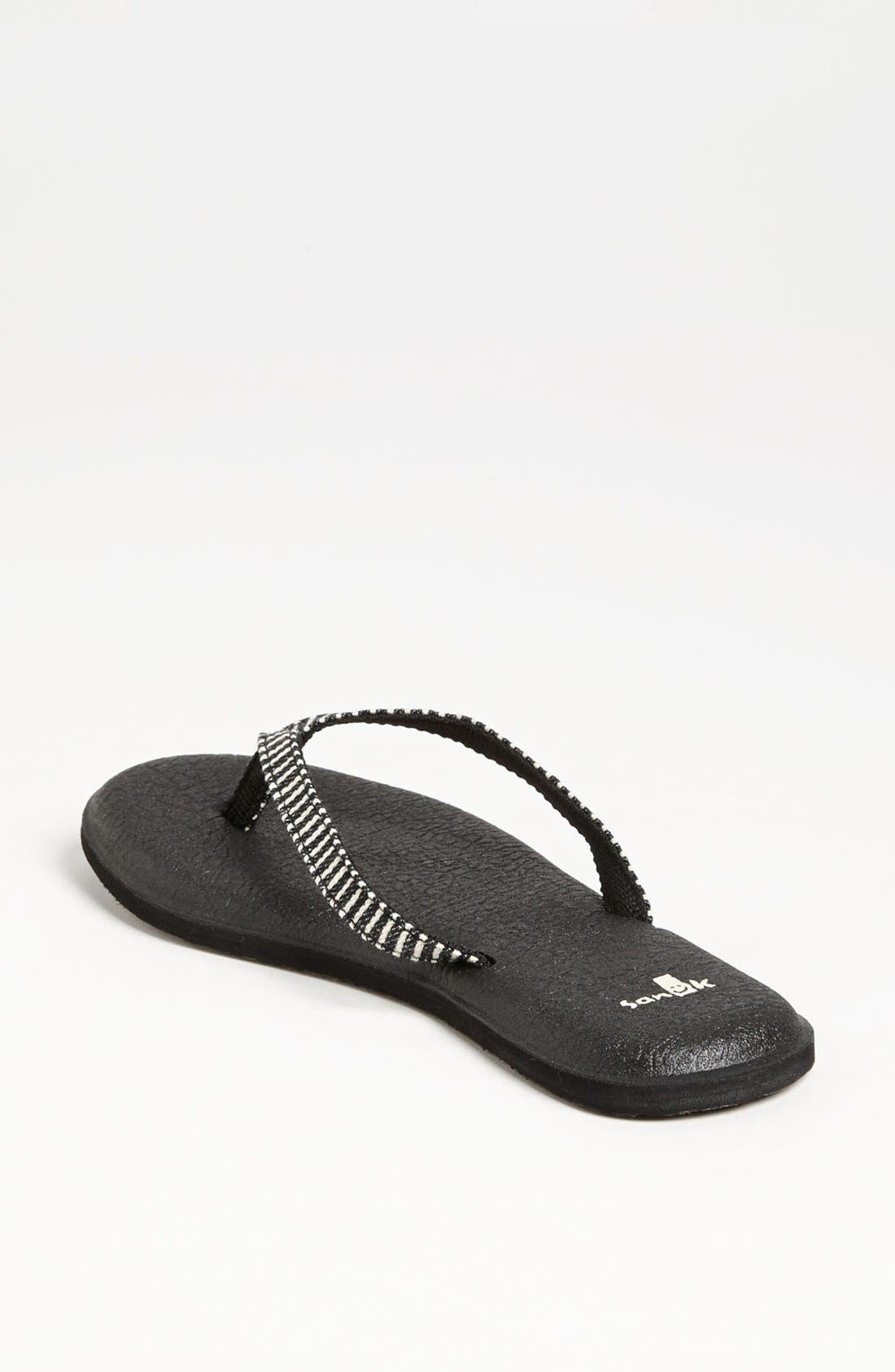 Alternate Image 2  - Sanuk 'Yoga Spree Funk' Flip Flop (Women)