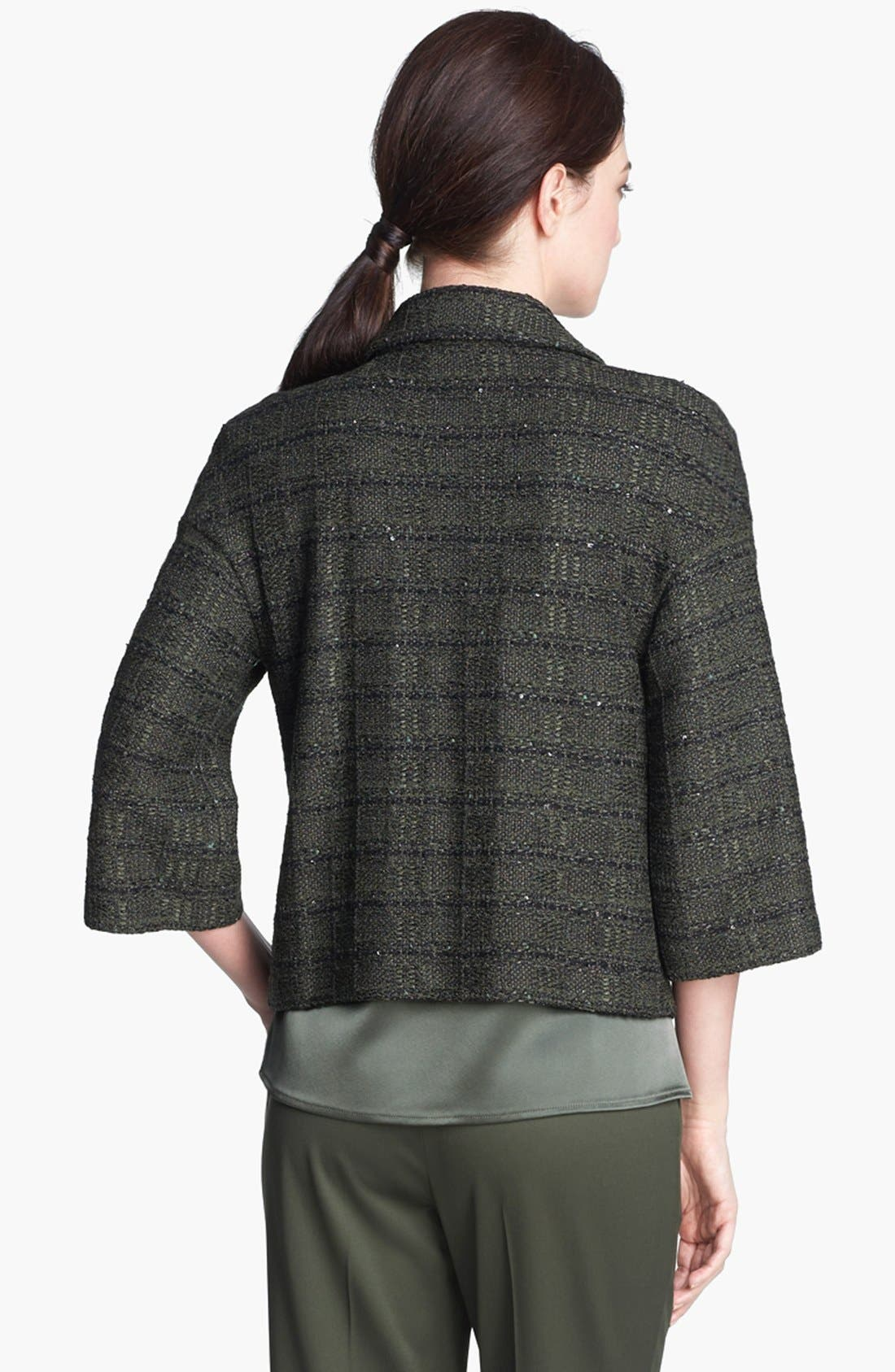 Alternate Image 4  - St. John Collection Sequin Tweed Knit Jacket