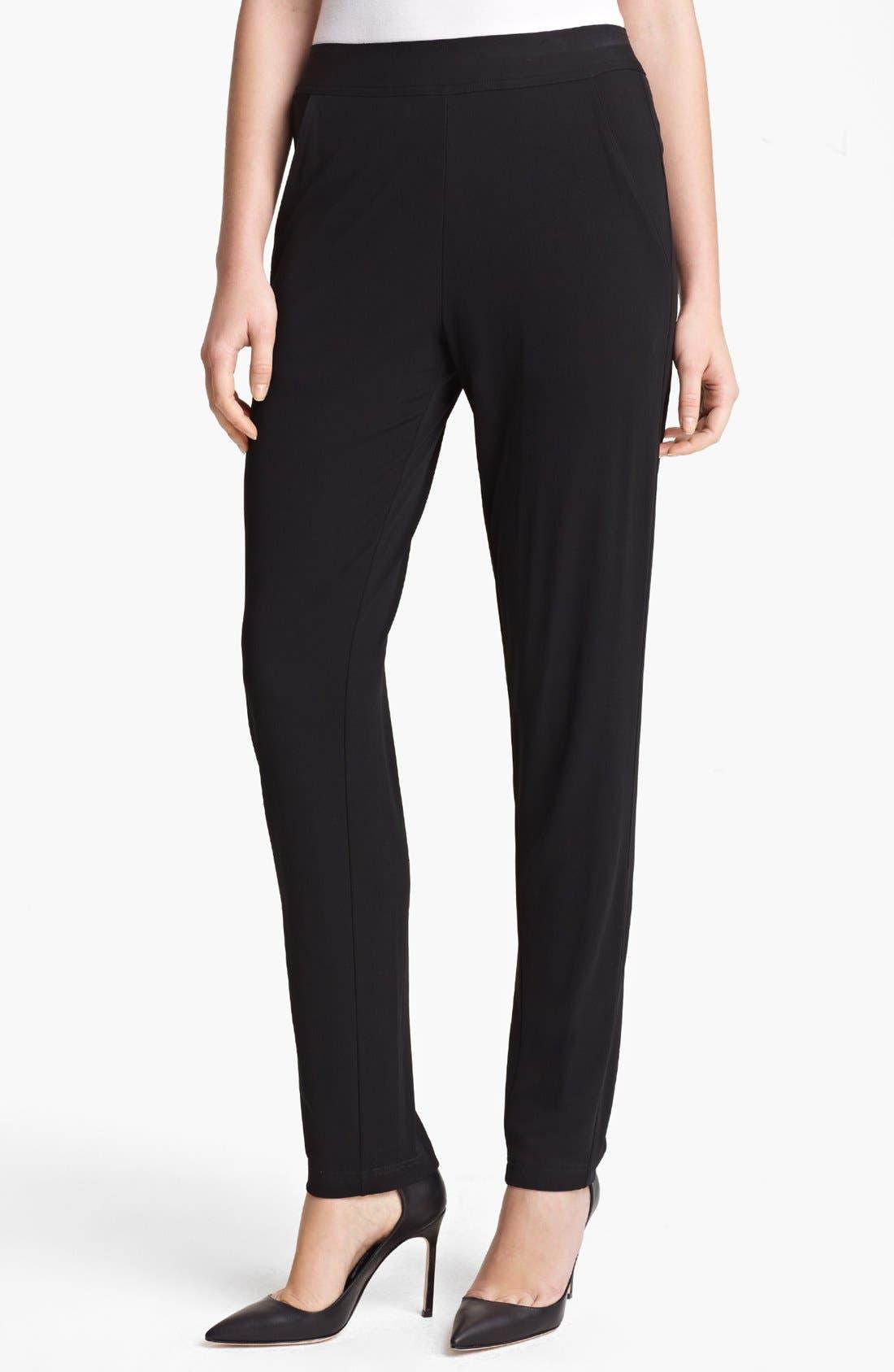Main Image - Donna Karan New York Fluid Jersey Pants
