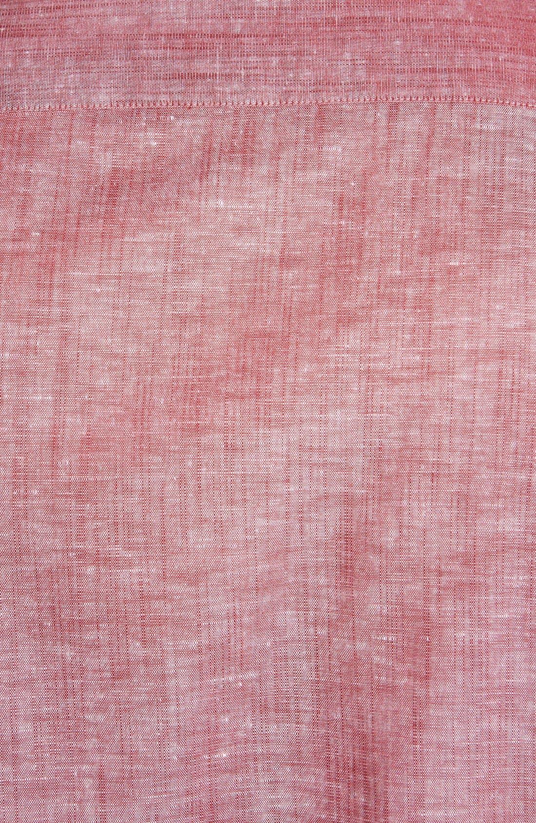 Alternate Image 3  - Ted Baker London 'Mytime' Linen Blend Campshirt