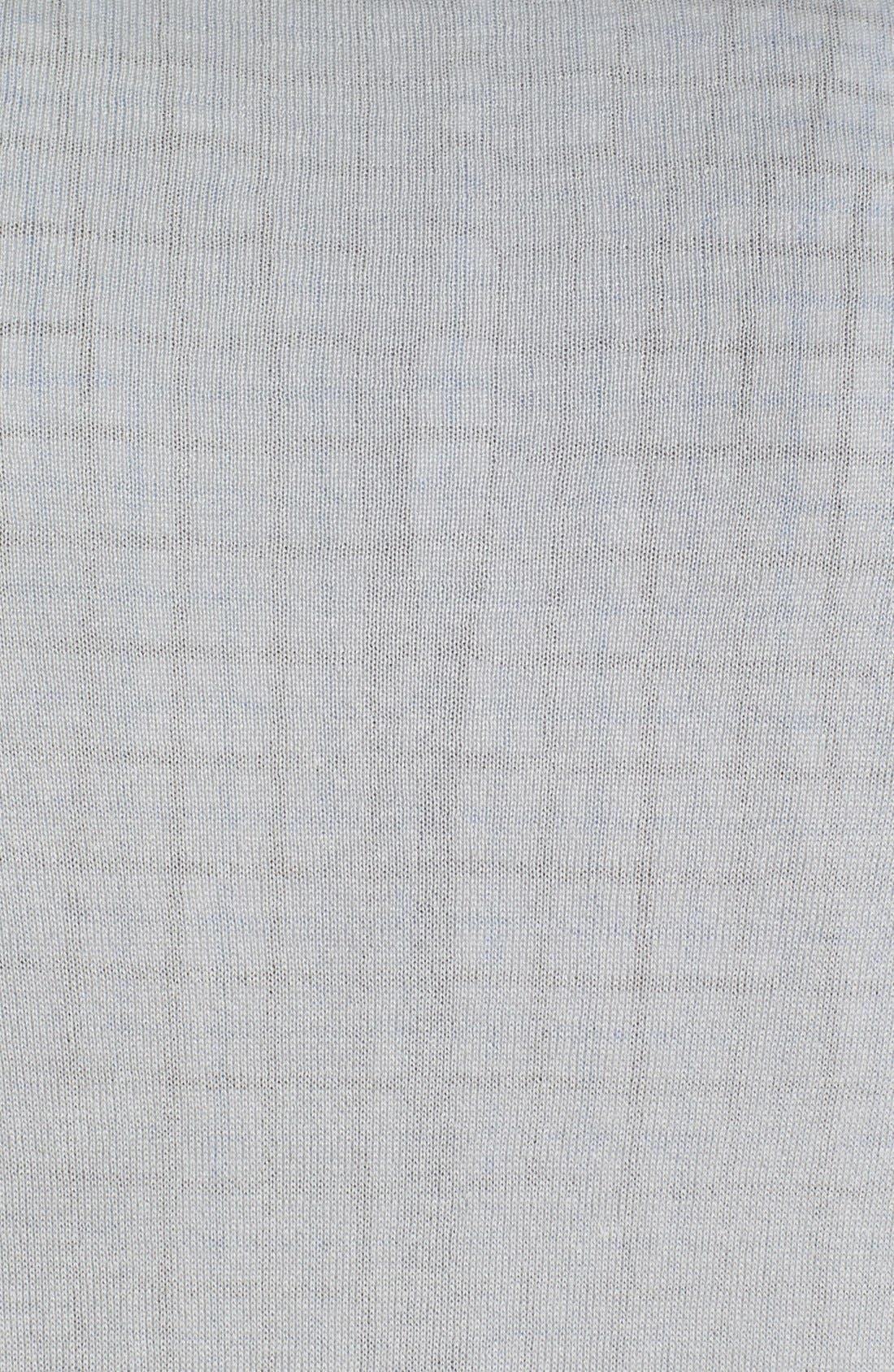 Alternate Image 3  - Robert Talbott Mock Neck Linen Blend Sweater