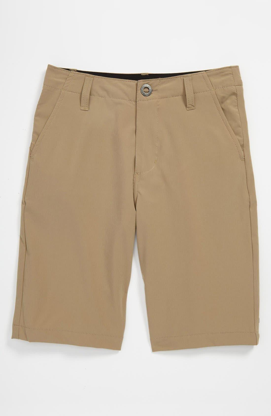 Alternate Image 1 Selected - Volcom Hybrid Shorts (Big Boys)