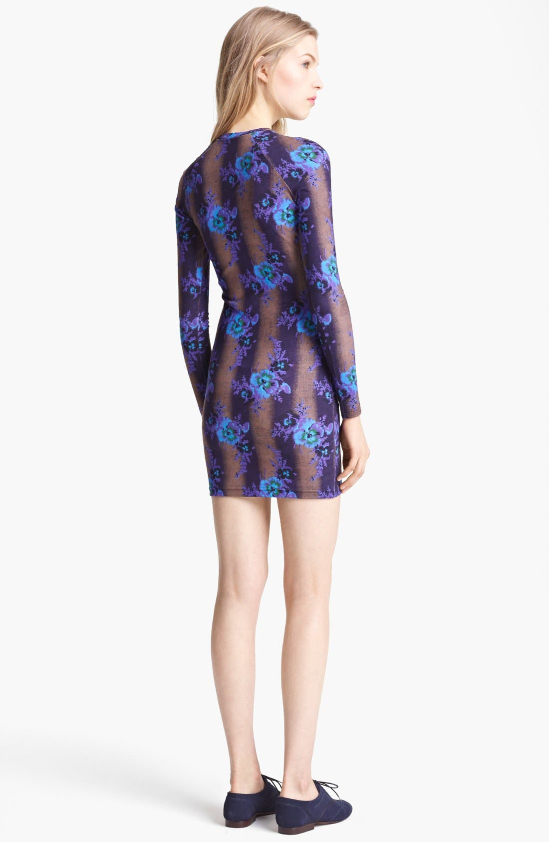 Alternate Image 2  - Christopher Kane Bouquet Print Jersey Dress