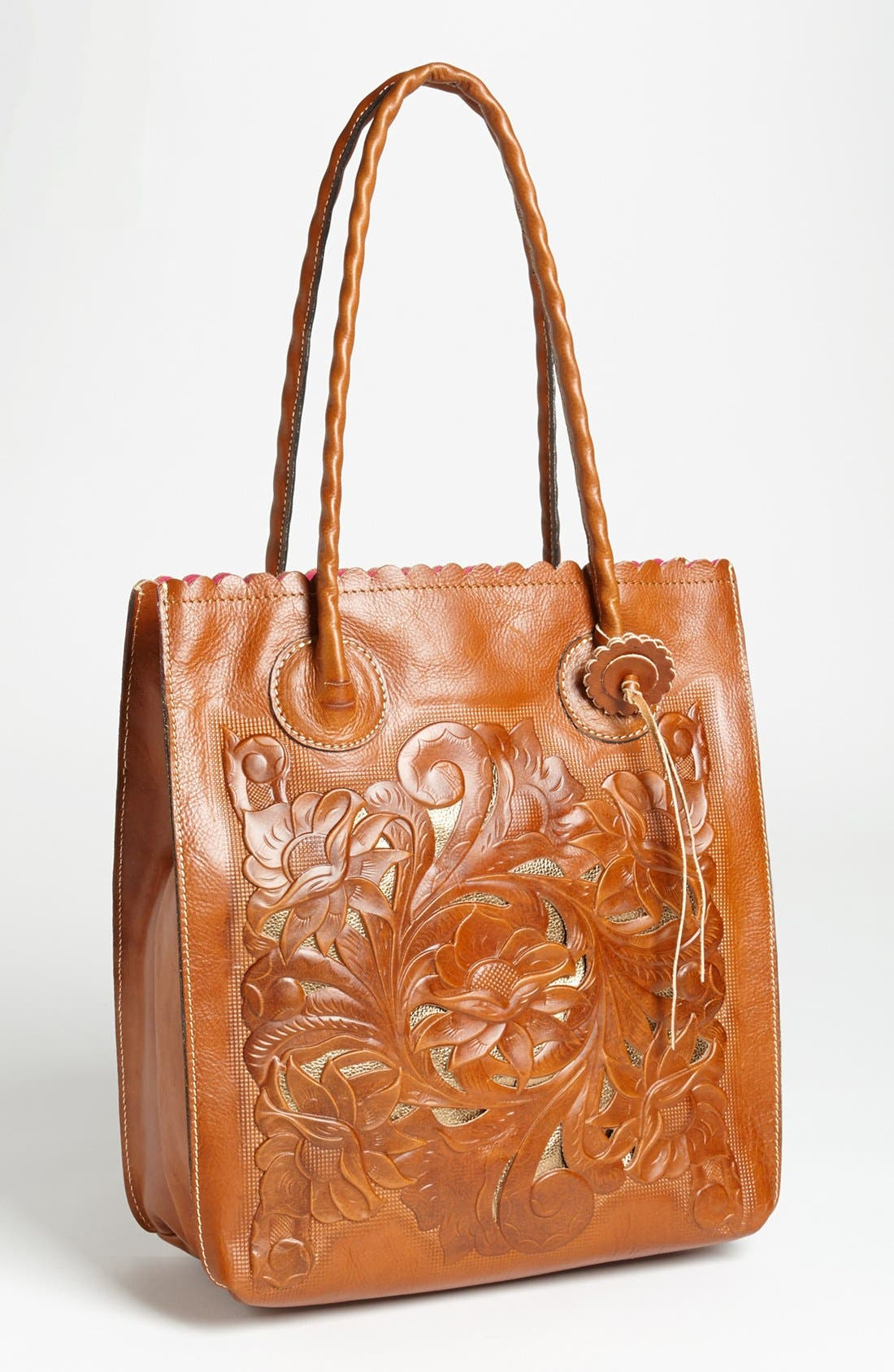 Alternate Image 1 Selected - Patricia Nash 'Cavo' Tooled Leather Tote