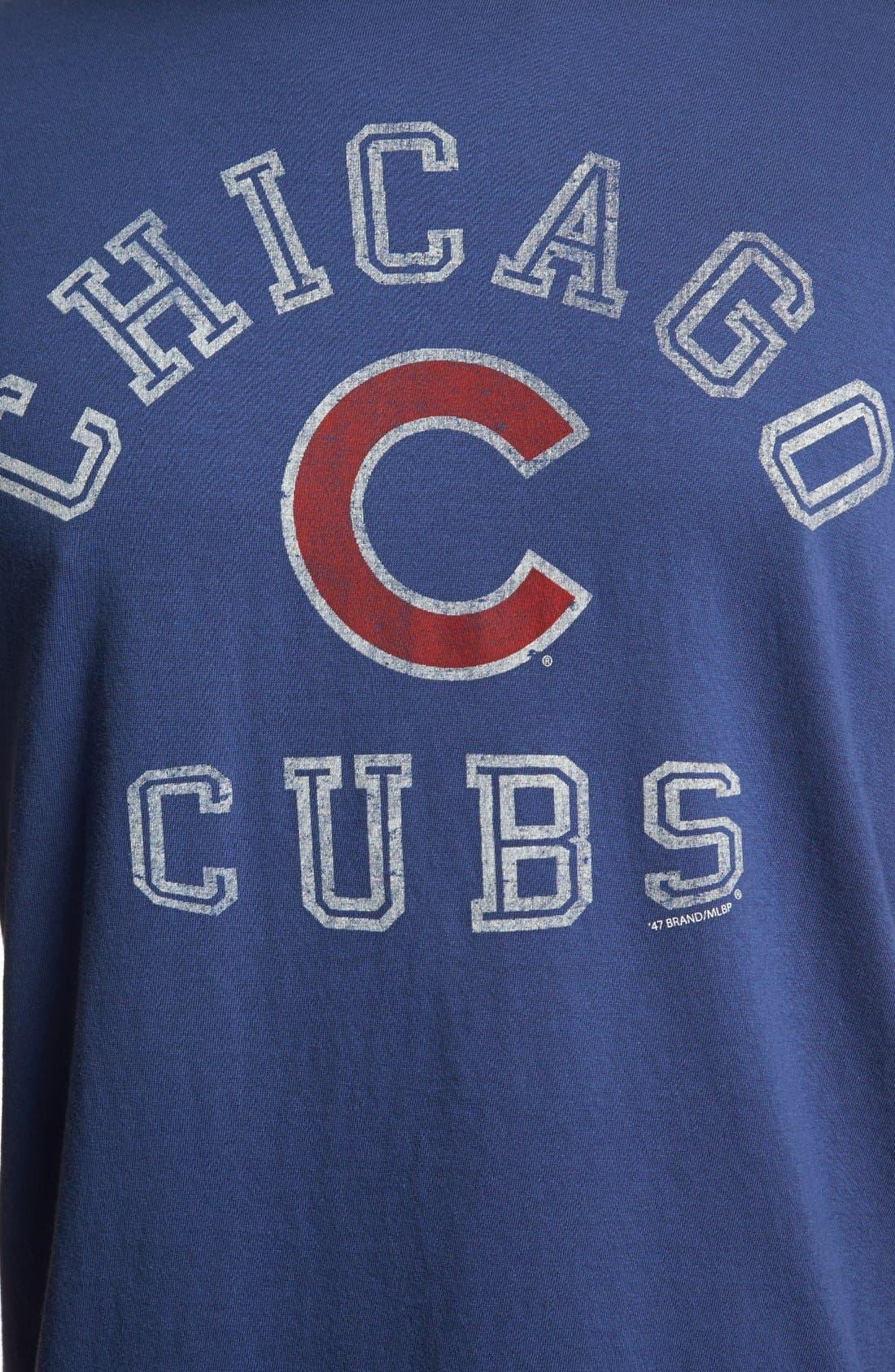 Alternate Image 3  - 47 Brand 'Chicago Cubs - Flanker' T-Shirt