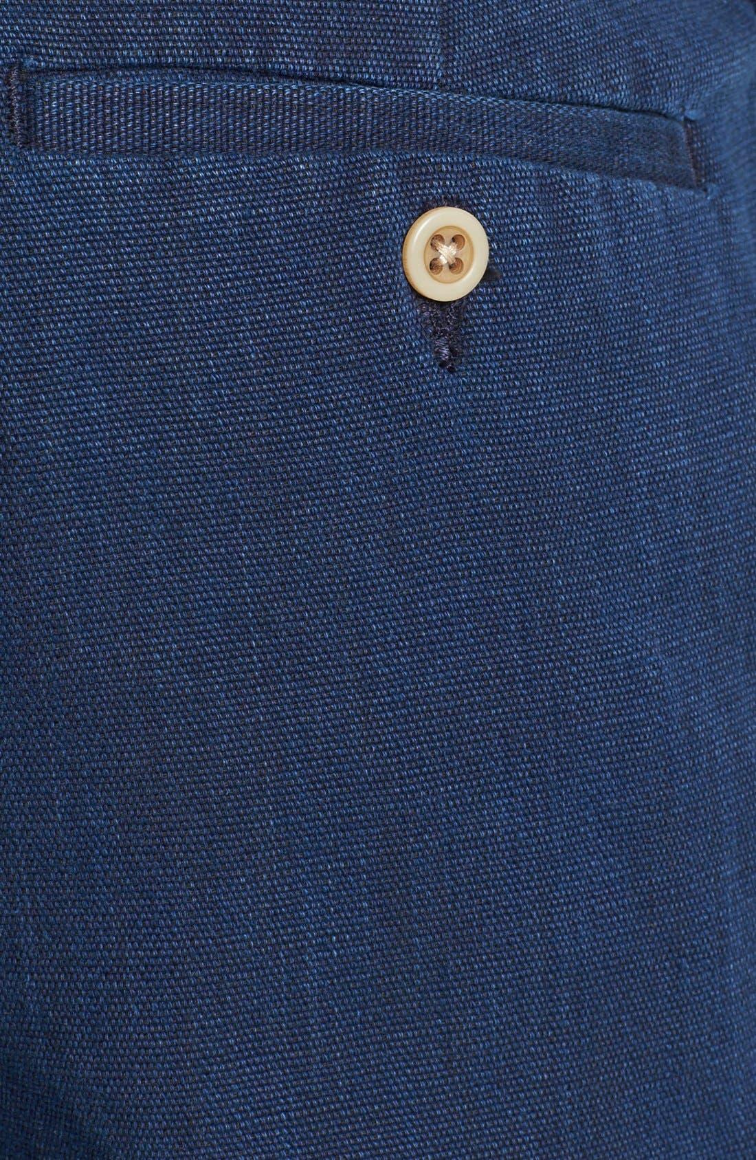 Alternate Image 3  - Just A Cheap Shirt 'Guam' Linen Shorts