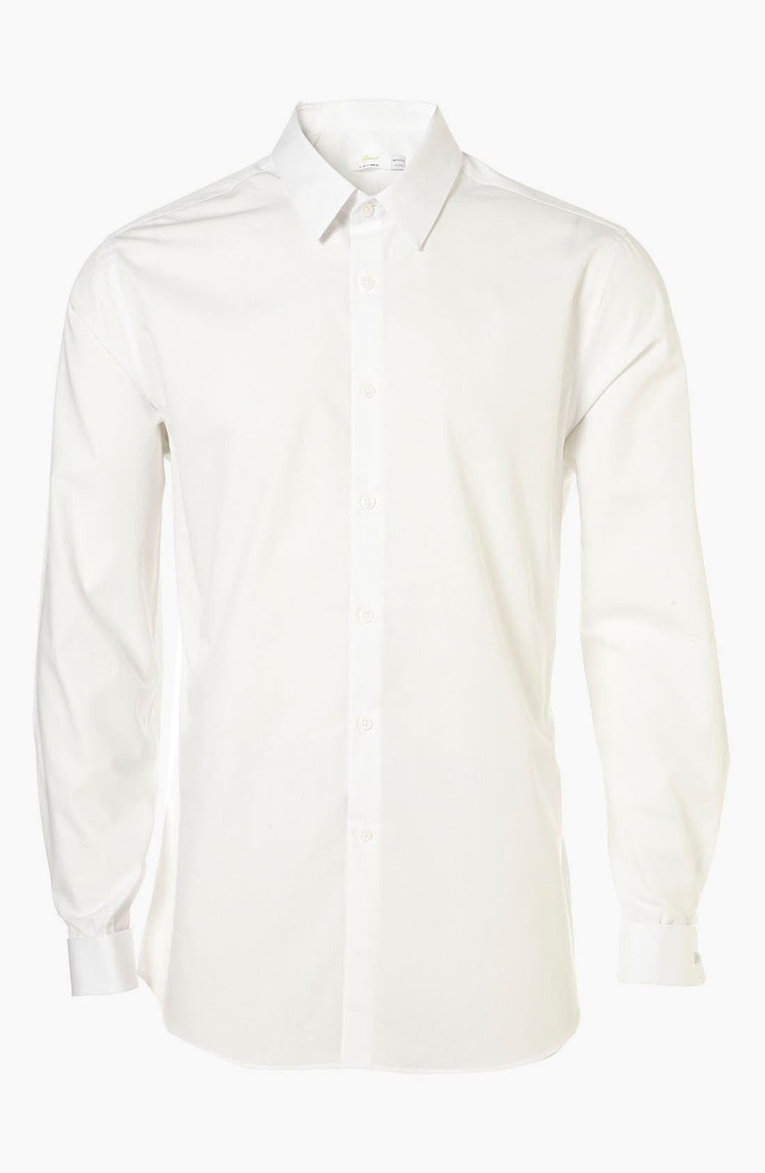 Alternate Image 1 Selected - Topman 'Smart' Slim Fit Dress Shirt
