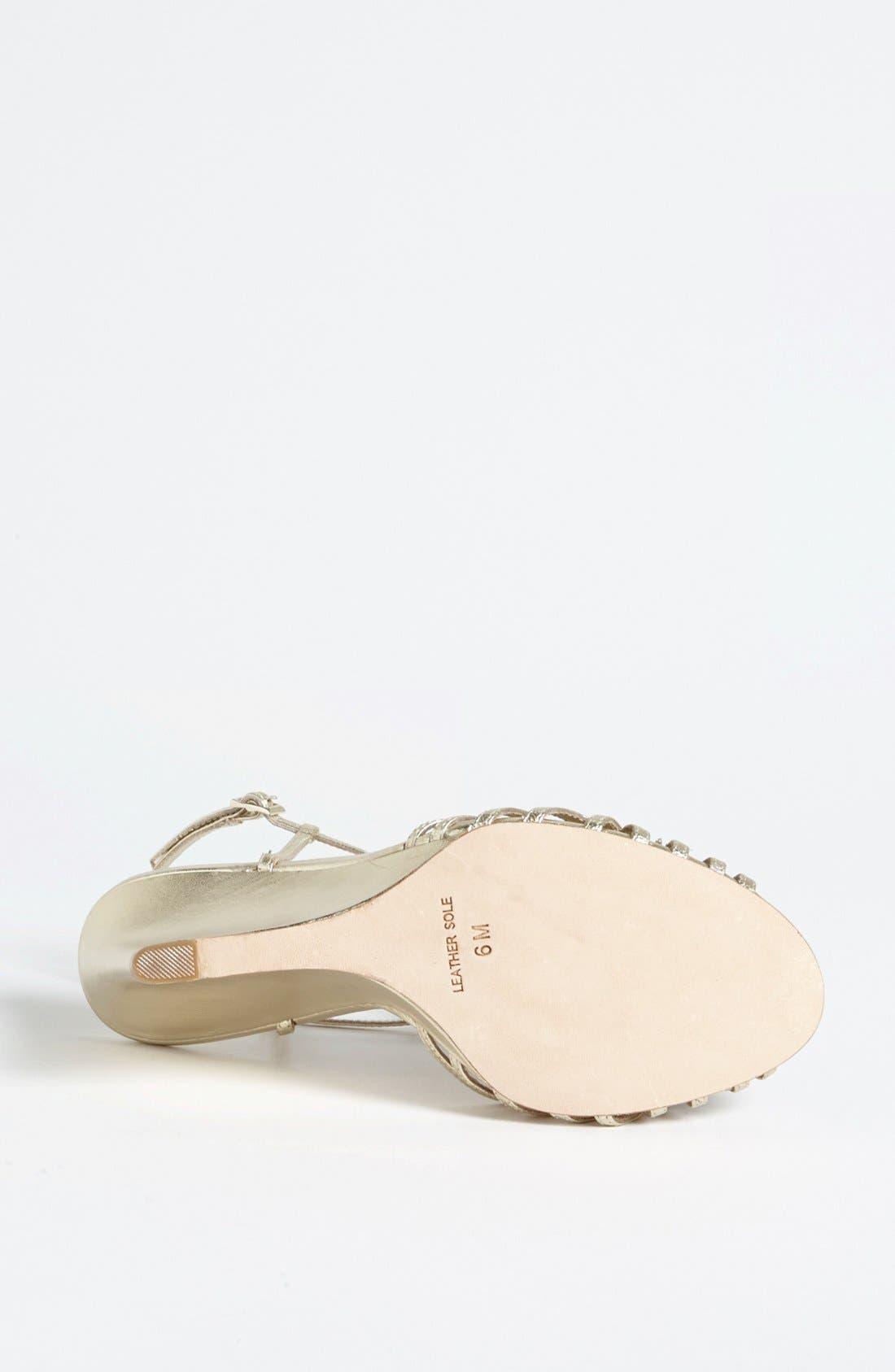 Alternate Image 4  - Badgley Mischka 'Naomi' Wedge Sandal