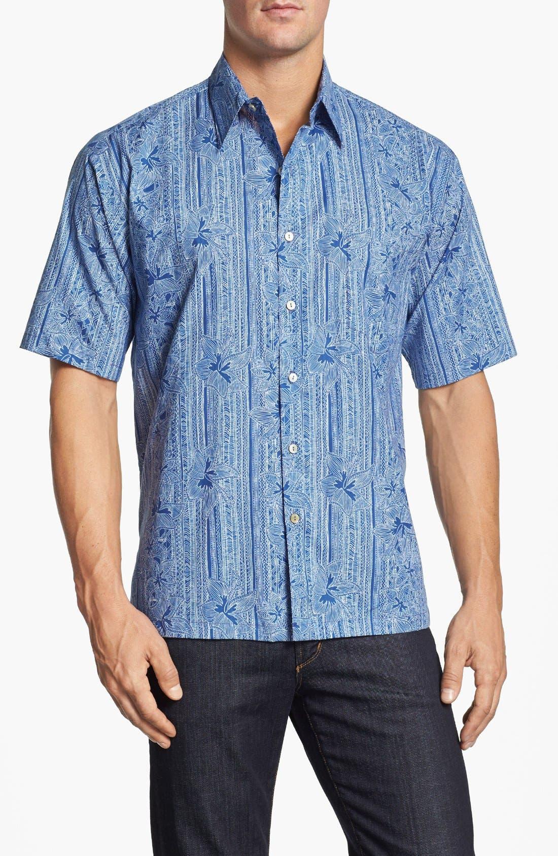 Alternate Image 1 Selected - Tori Richard 'Wall Flower' Short Sleeve Sport Shirt