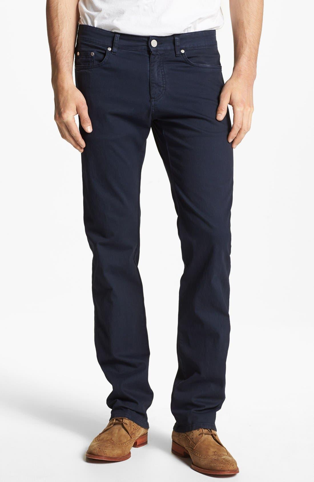 Main Image - Z Zegna Slim Fit Jeans
