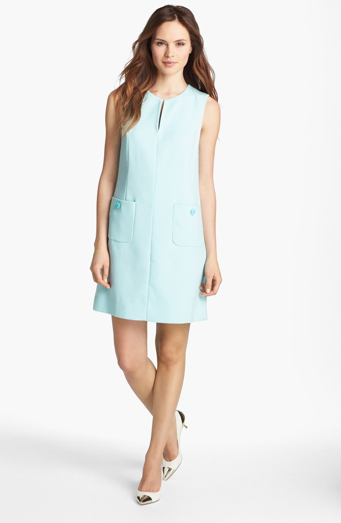 Alternate Image 1 Selected - kate spade new york 'tali' crepe shift dress