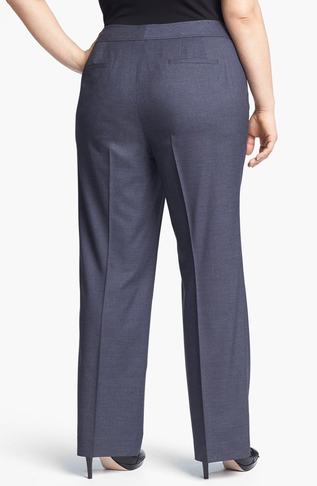 Alternate Image 2  - Sejour 'Gilda' Curvy Fit Trouser (Plus Size)