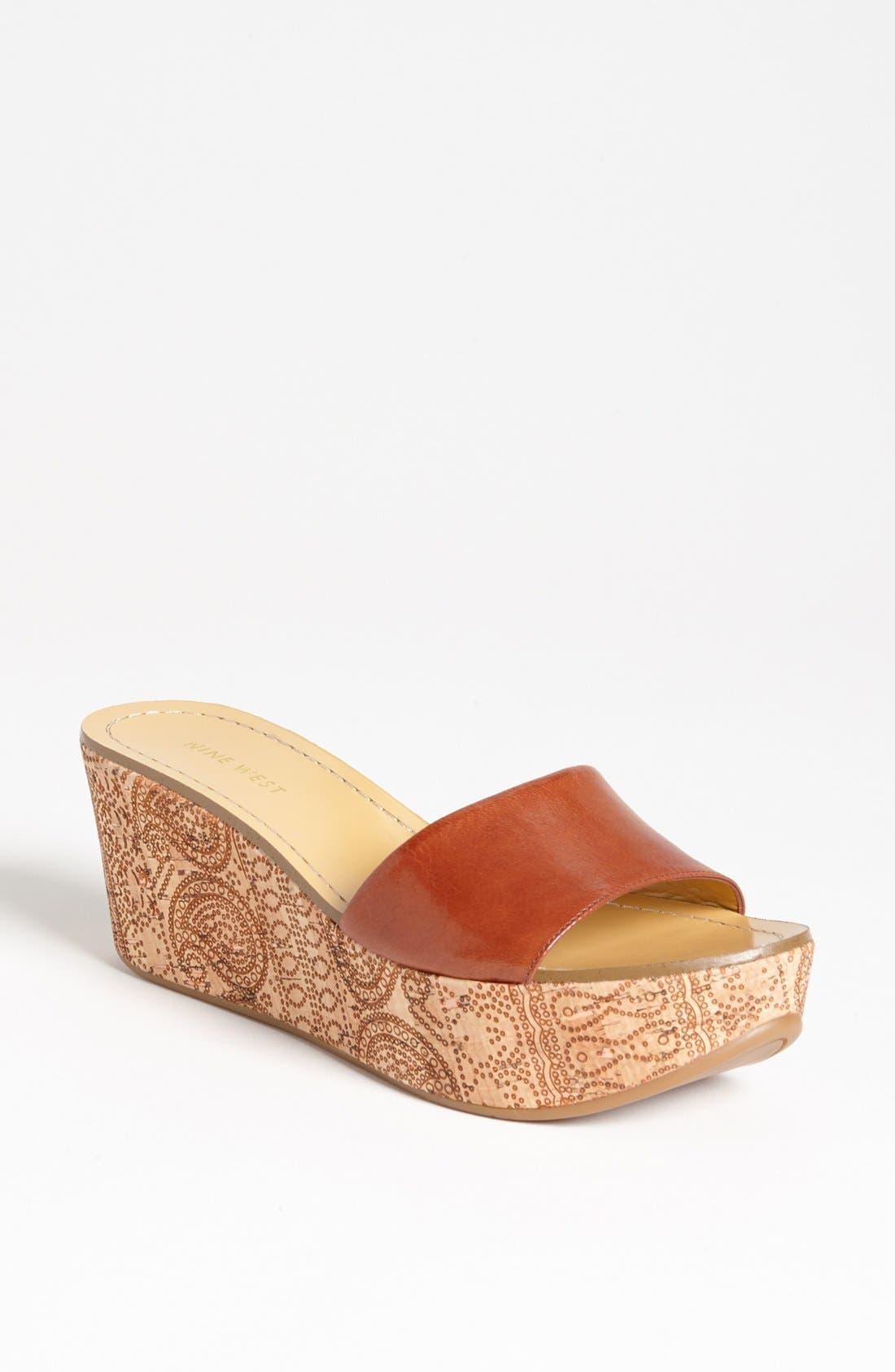 Alternate Image 1 Selected - Nine West 'Relax' Sandal