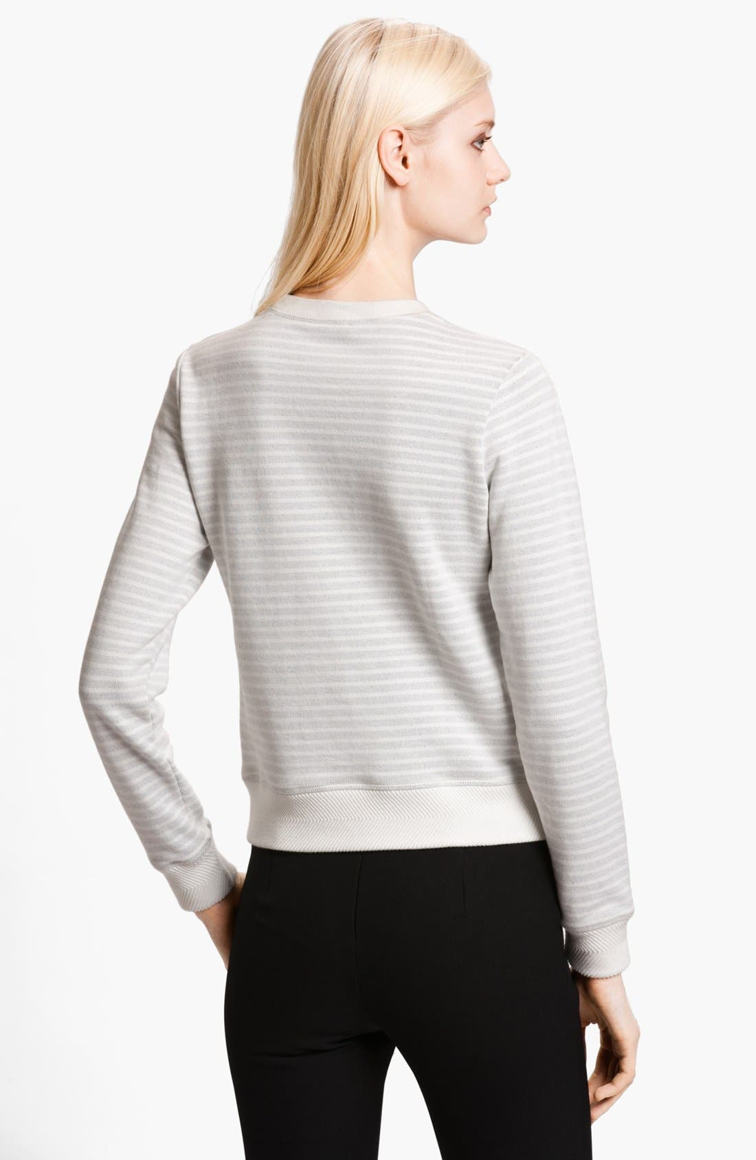 Alternate Image 2  - KENZO Eiffel Tower Stripe Sweatshirt