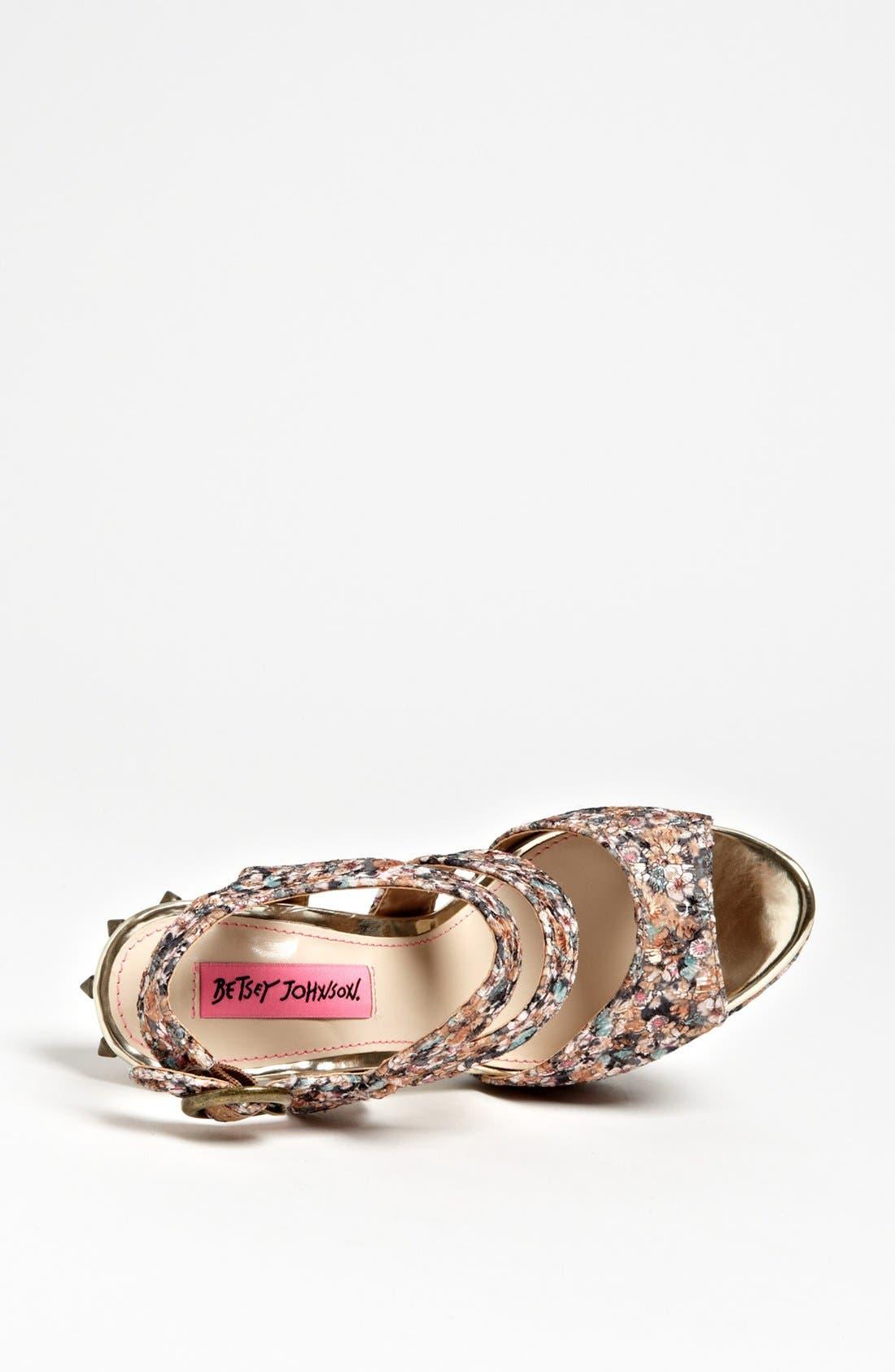 Alternate Image 3  - Betsey Johnson 'Endall' Sandal