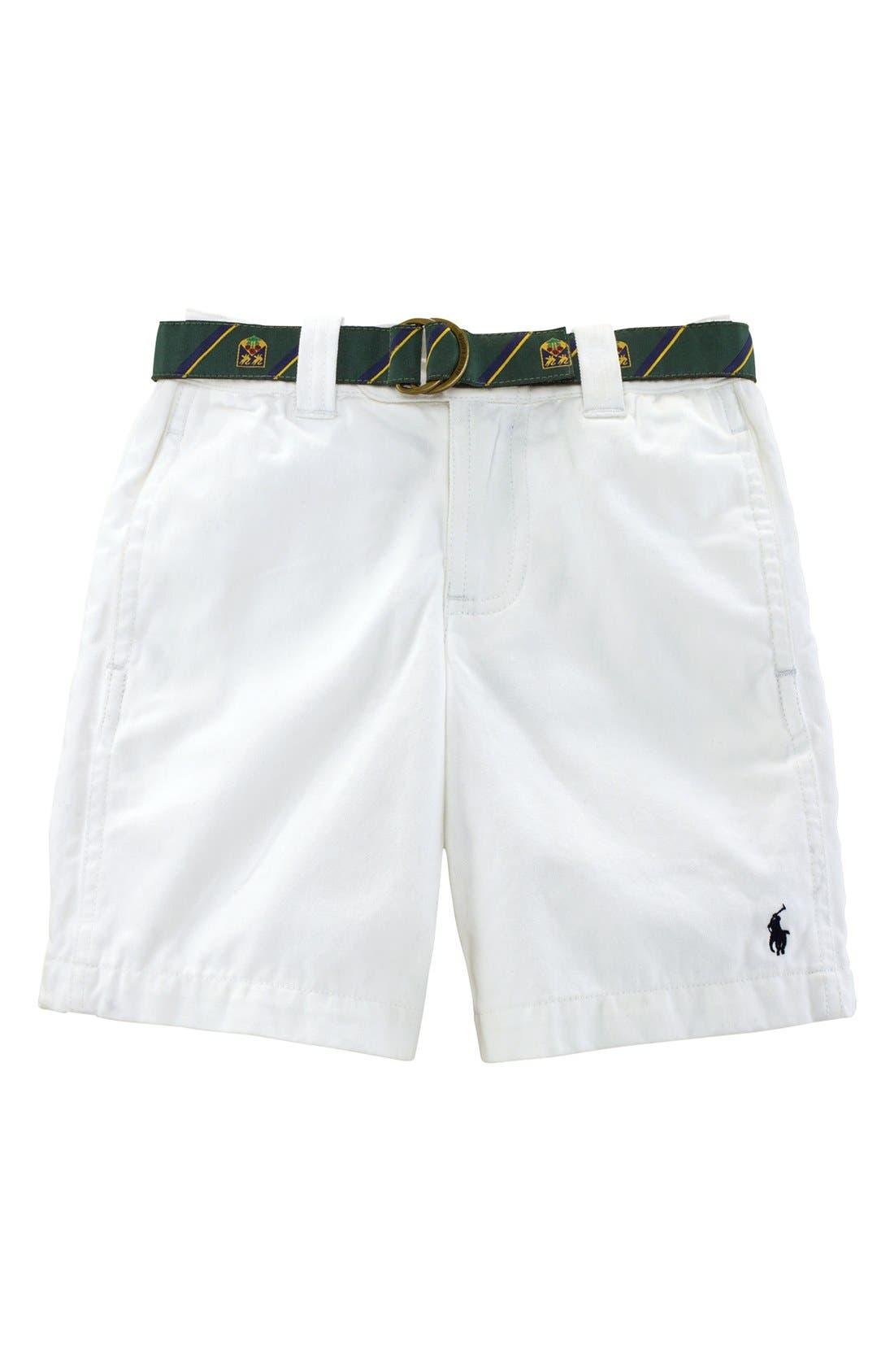 Alternate Image 1 Selected - Ralph Lauren Shorts (Toddler Boys)