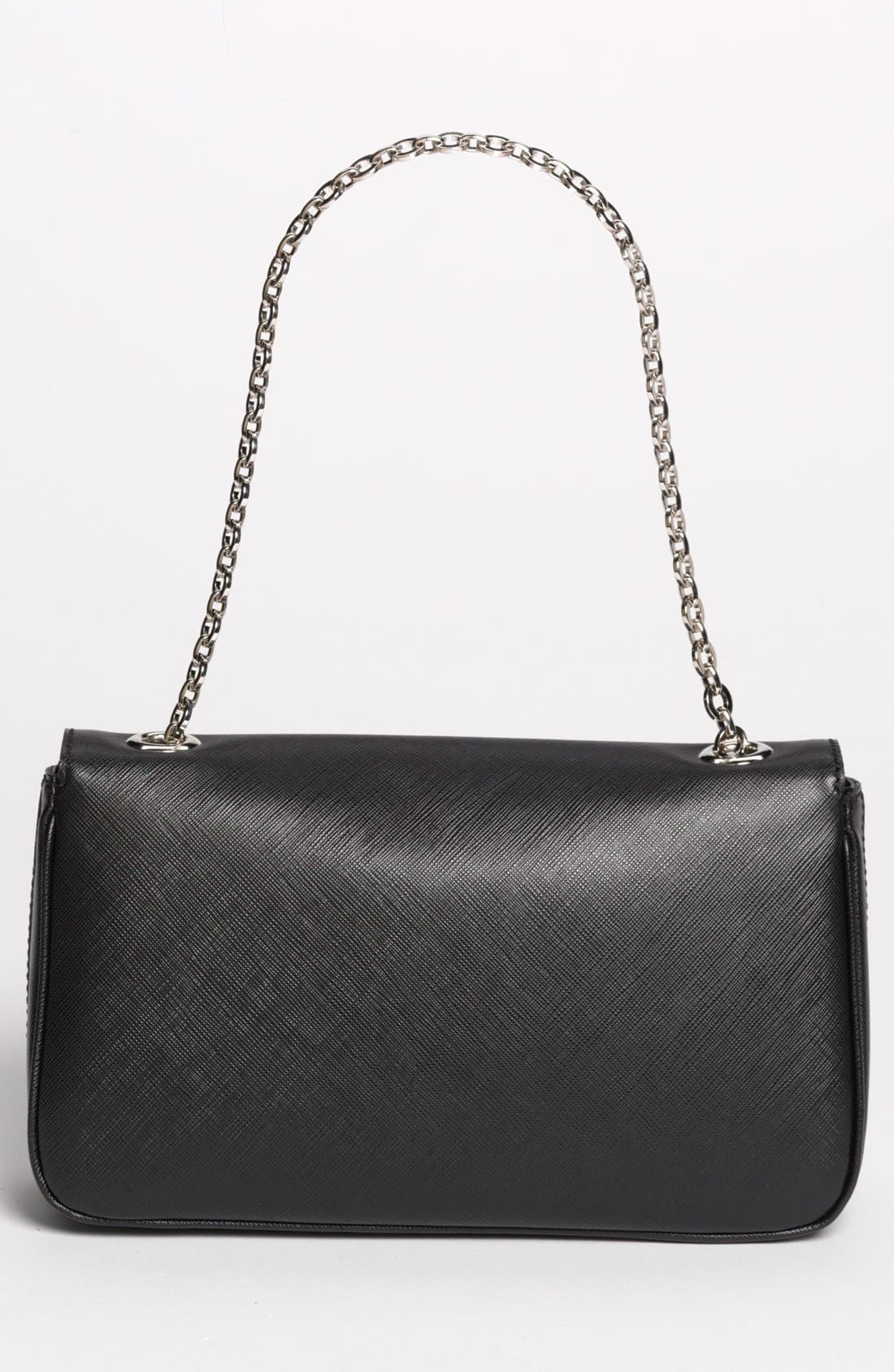 Alternate Image 4  - Salvatore Ferragamo 'Luciana' Leather Shoulder Bag