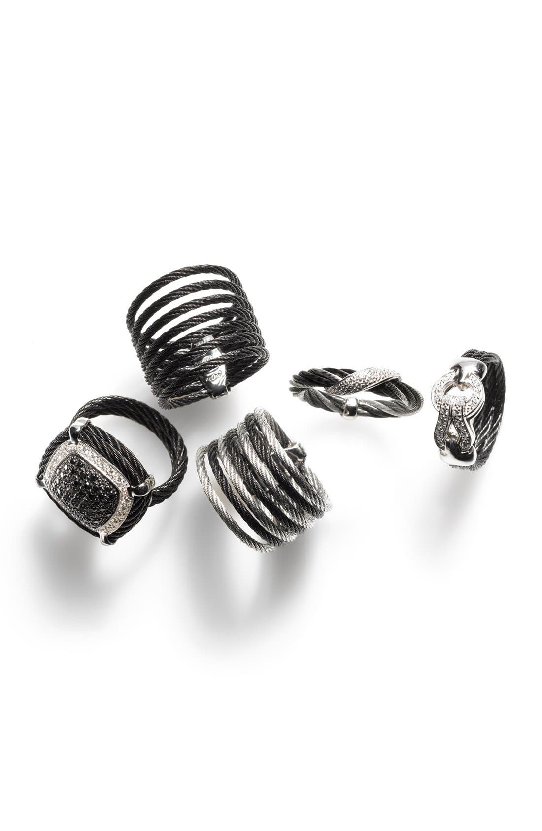 Alternate Image 2  - ALOR® Diamond Knot Cable Ring