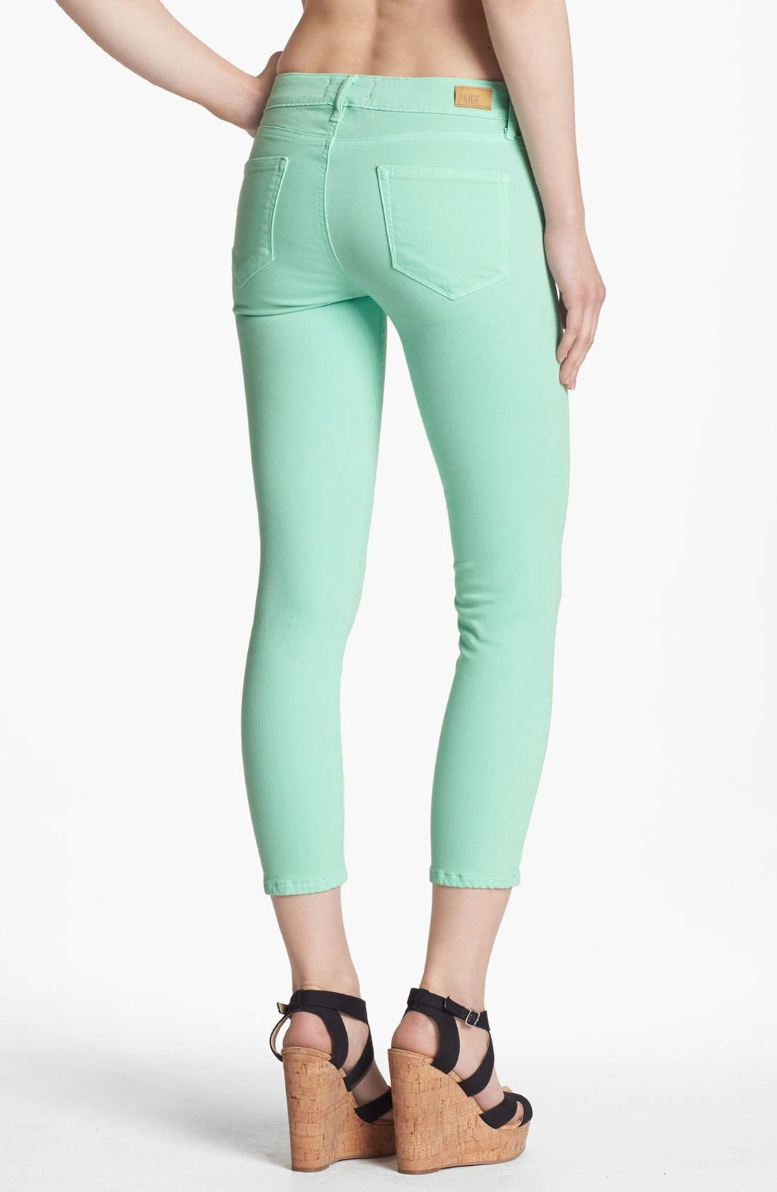 Alternate Image 2  - Paige Denim 'Kylie' Crop Jeans (Glass)