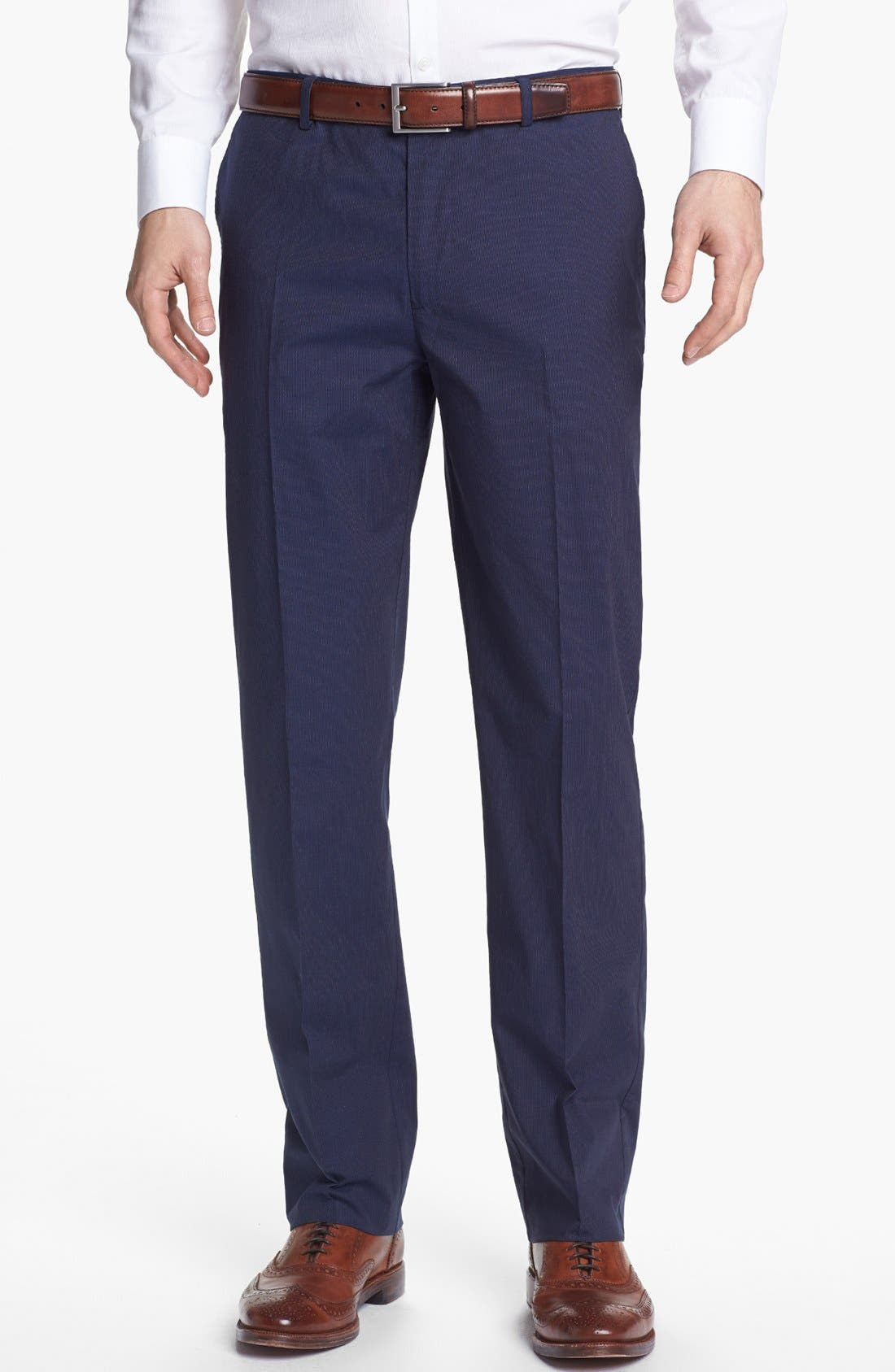 Alternate Image 1 Selected - Calibrate 'Rhoden' Stripe Trousers (Tall)