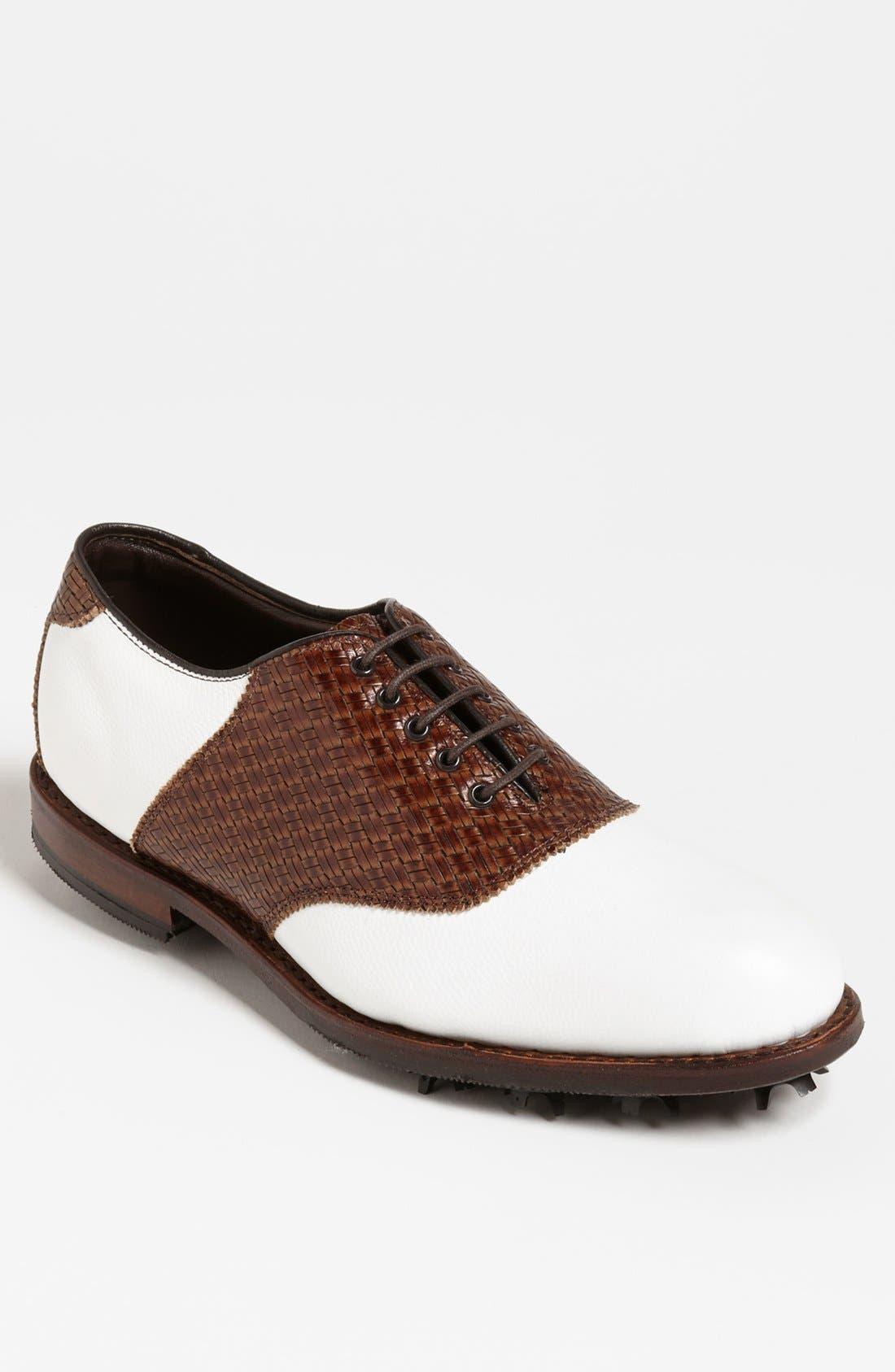 Alternate Image 1 Selected - Allen Edmonds 'Redan' Golf Shoe (Men)