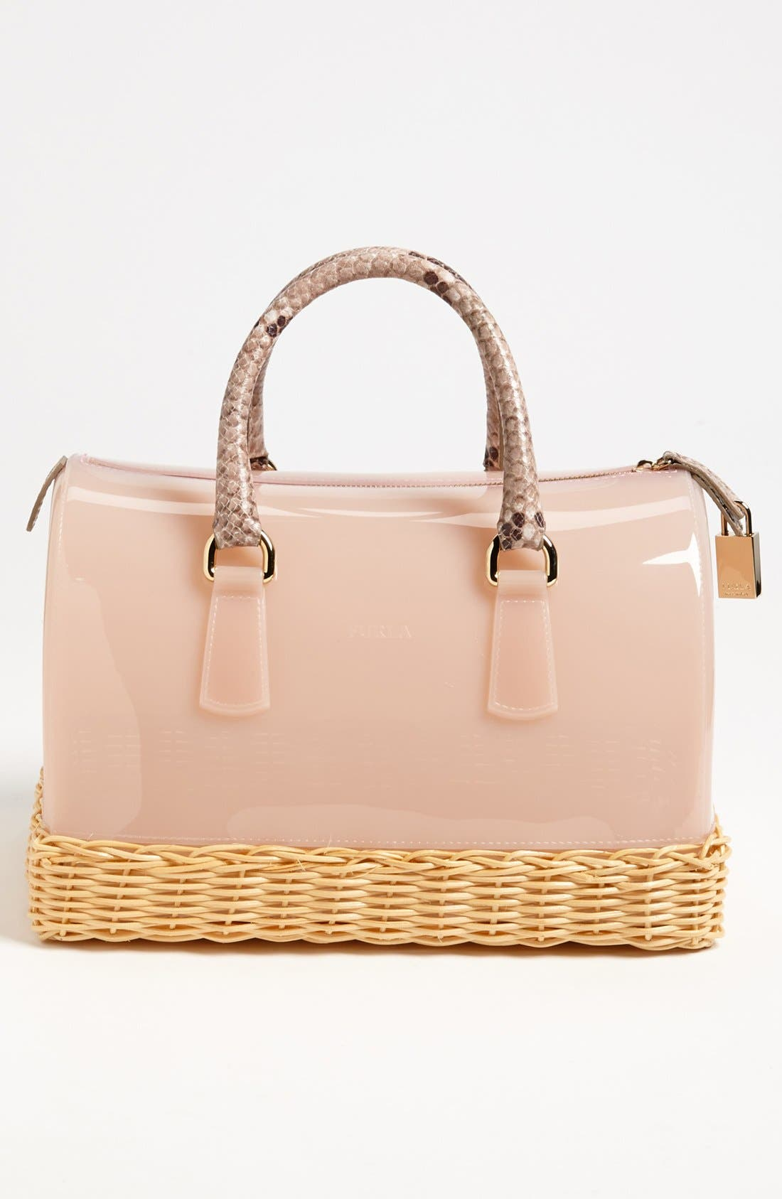 Alternate Image 4  - Furla 'Candy' Rubber Satchel
