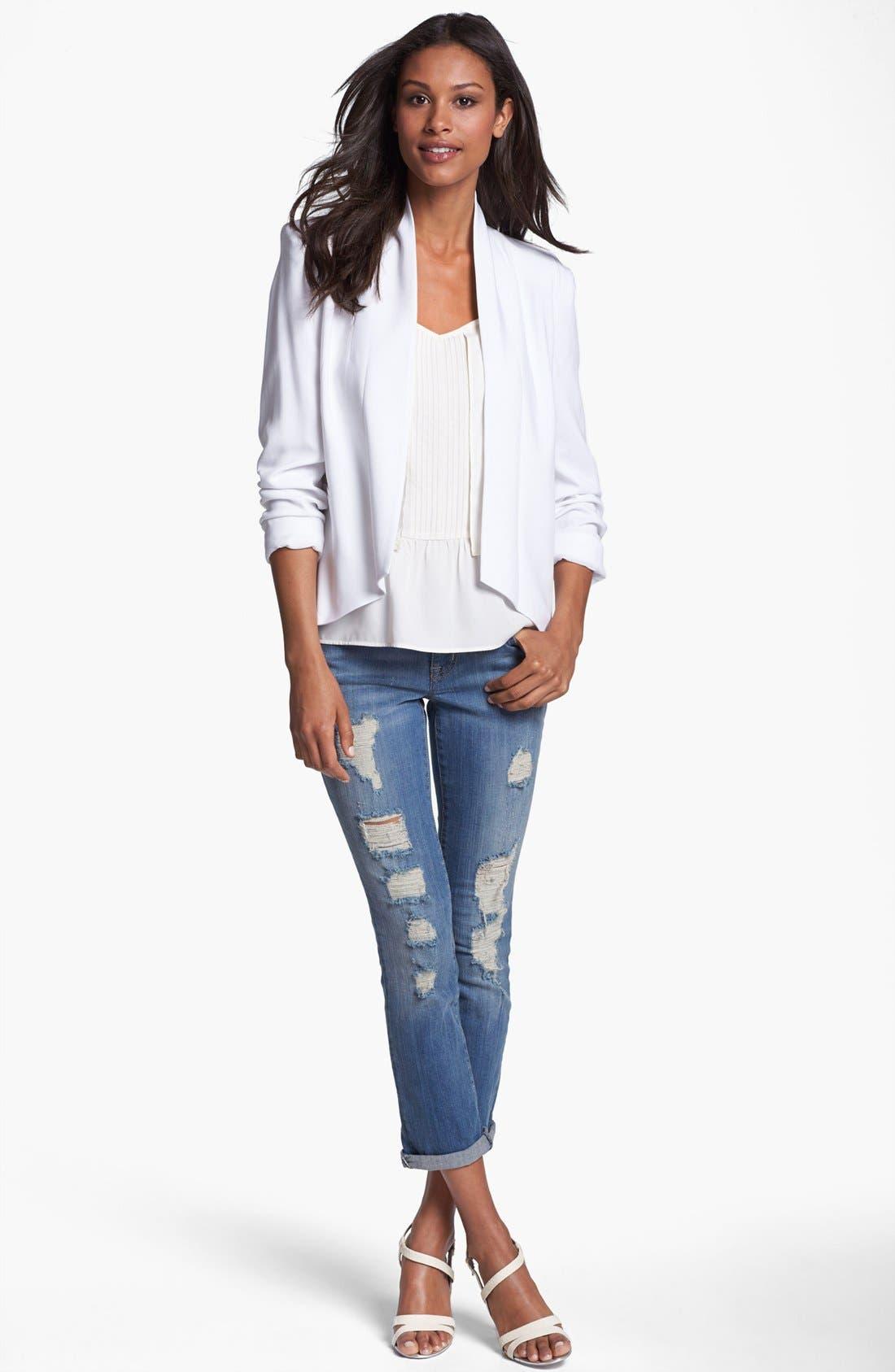 Main Image - Jessica Simpson 'Dalton' Jacket (Online Only)