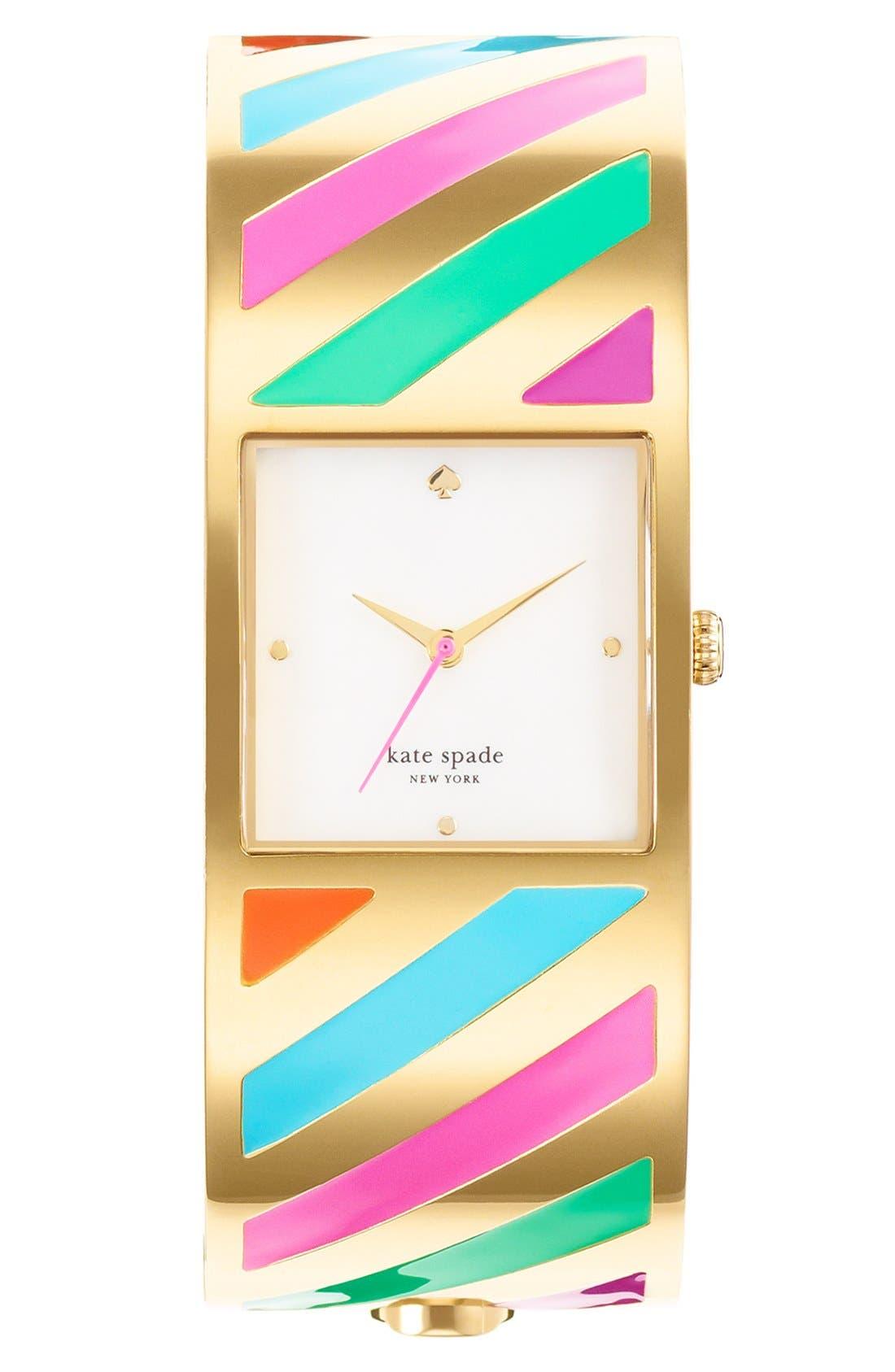 Alternate Image 1 Selected - kate spade new york 'delacorte' bangle watch, 20mm
