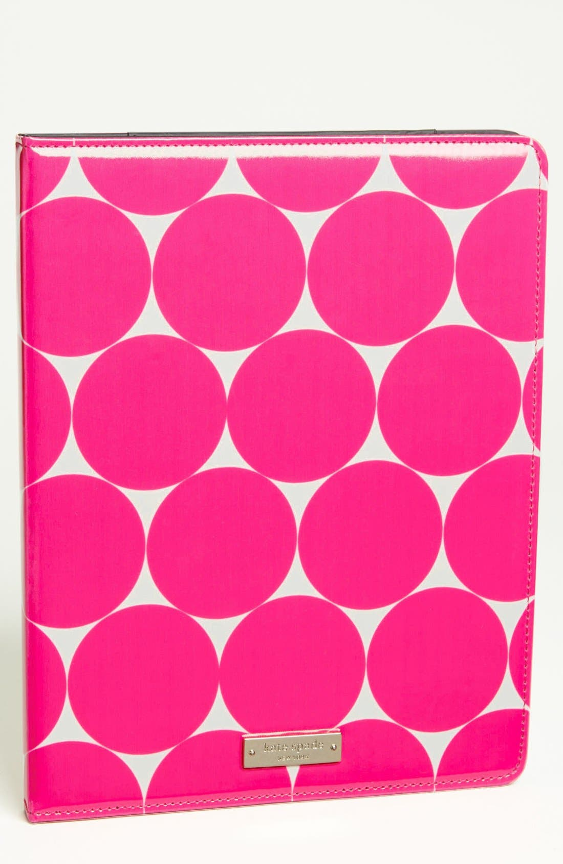 Main Image - kate spade new york 'deborah dot' iPad folio