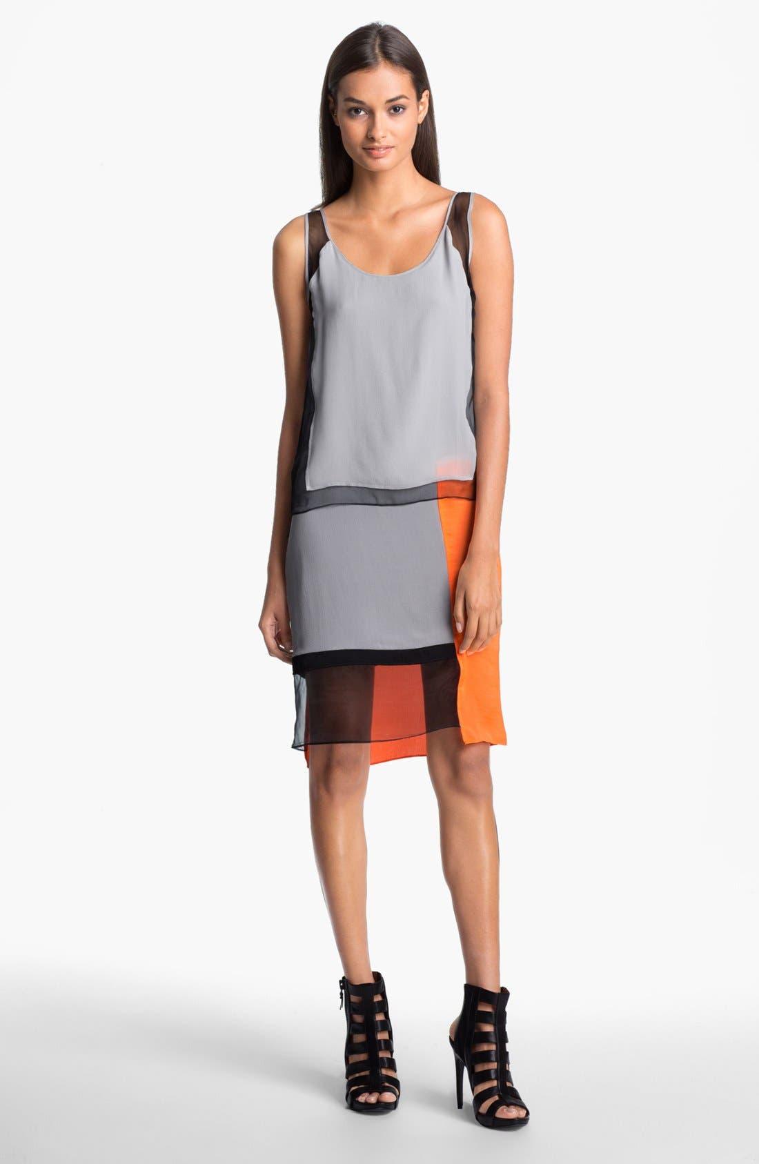 Alternate Image 1 Selected - Helmut Lang 'Chroma' Draped Dress