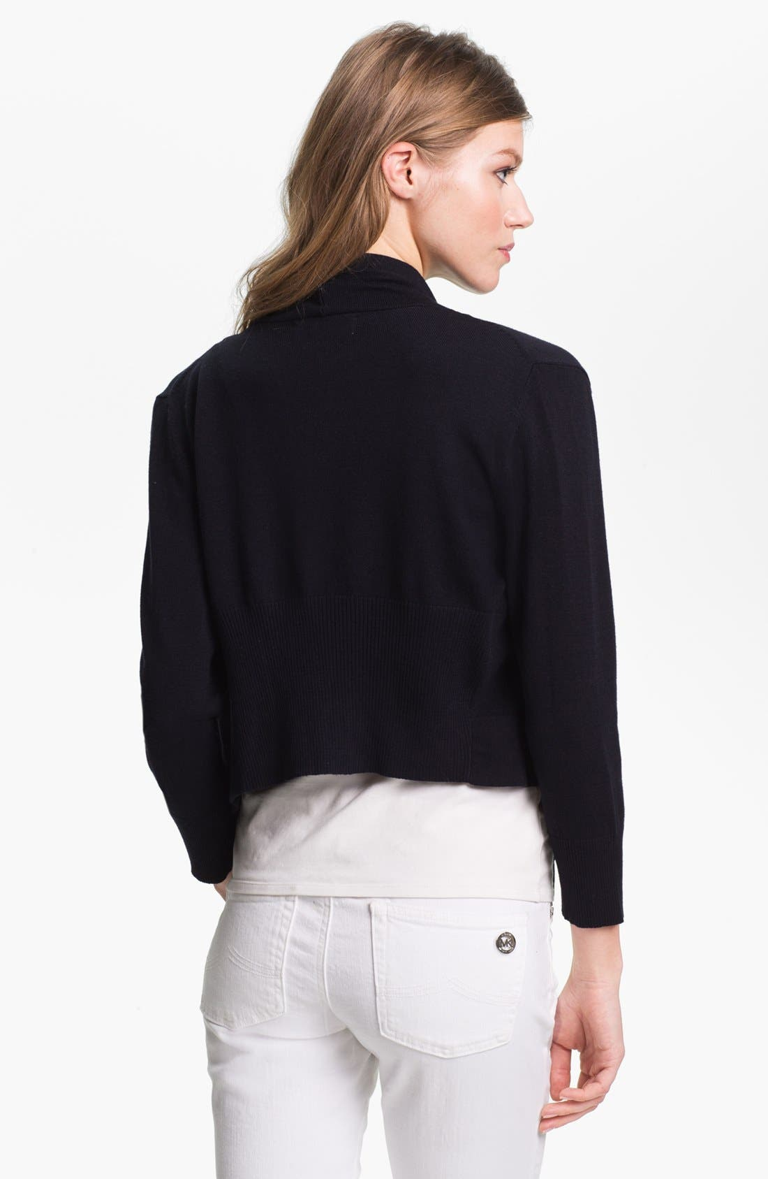 Alternate Image 2  - MICHAEL Michael Kors Drape Front Shrug
