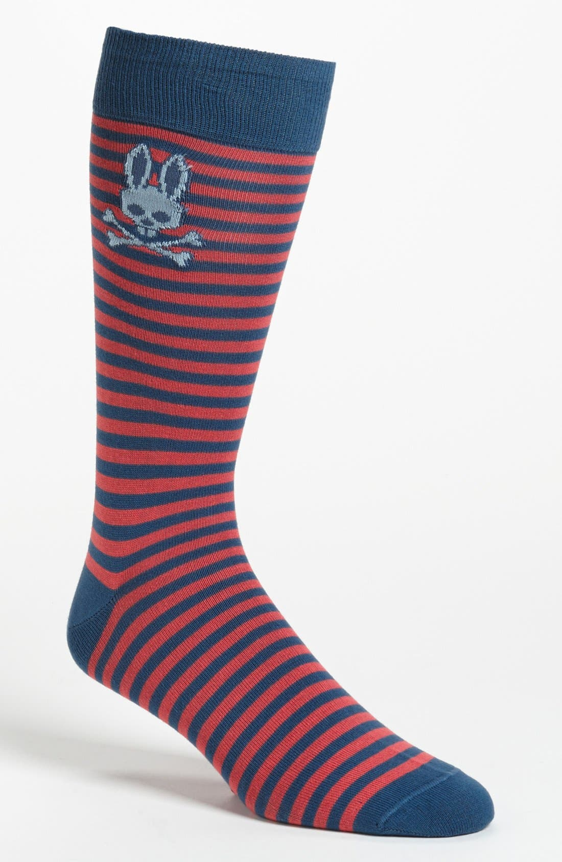 Alternate Image 1 Selected - Psycho Bunny Stripe Socks