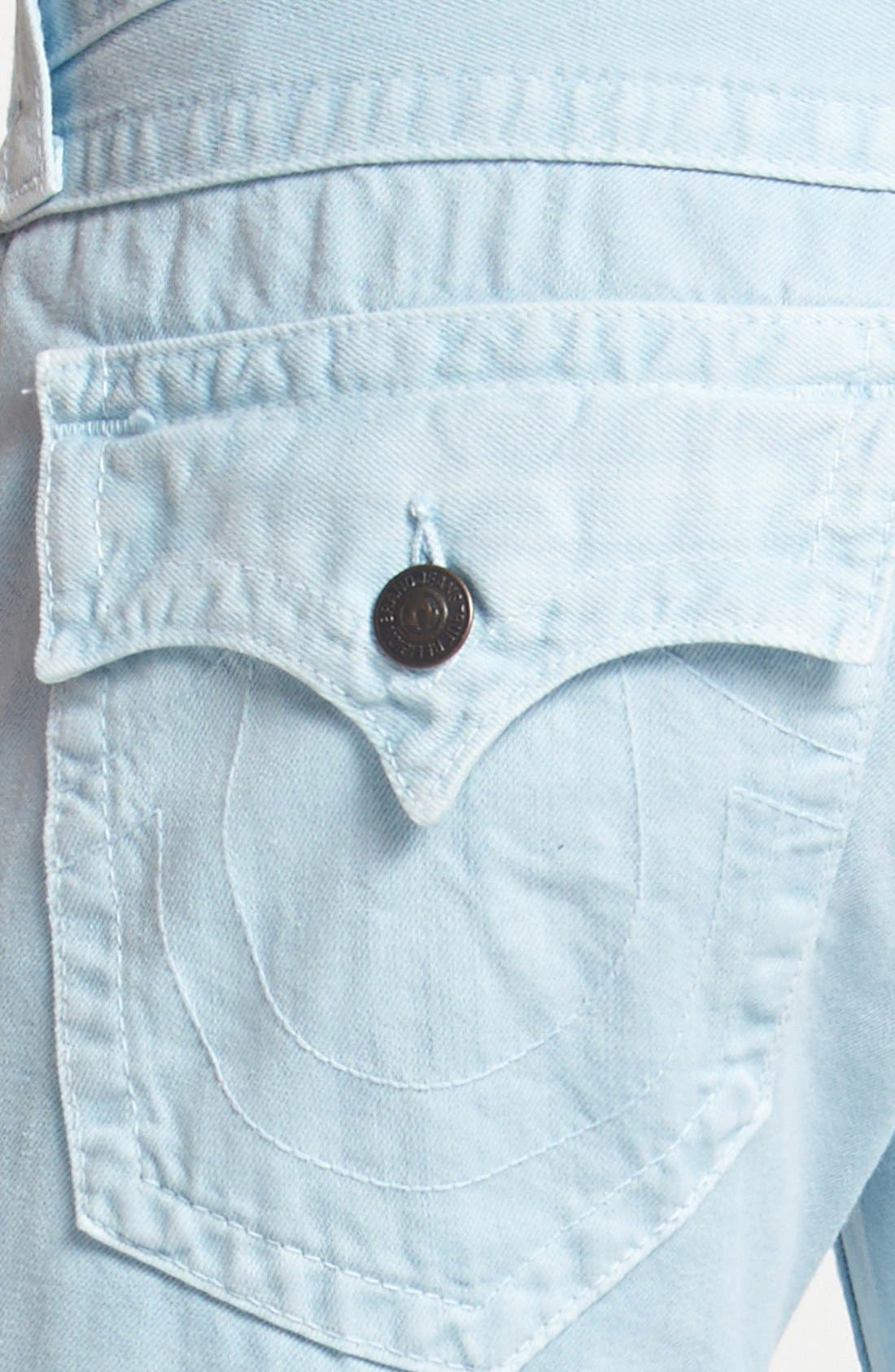 Alternate Image 4  - True Religion Brand Jeans 'Ricky' Straight Leg Pants