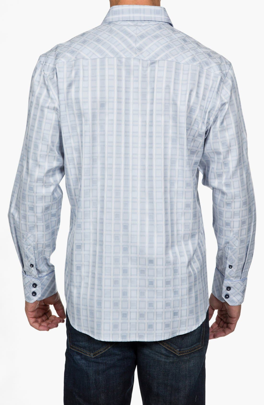 Alternate Image 2  - Zagiri Regular Fit Sport Shirt