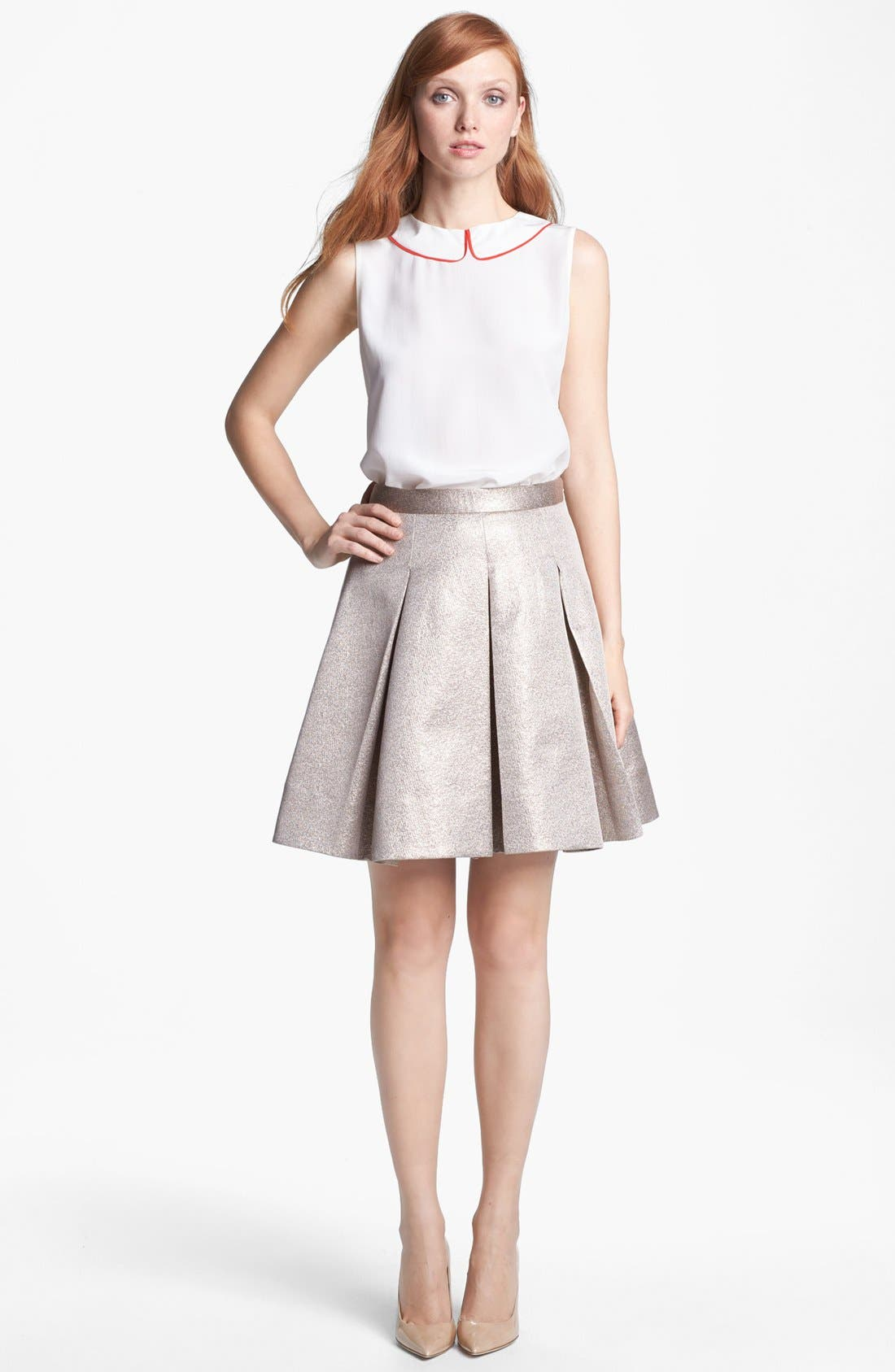 Alternate Image 4  - kate spade new york 'beatrix' silk top